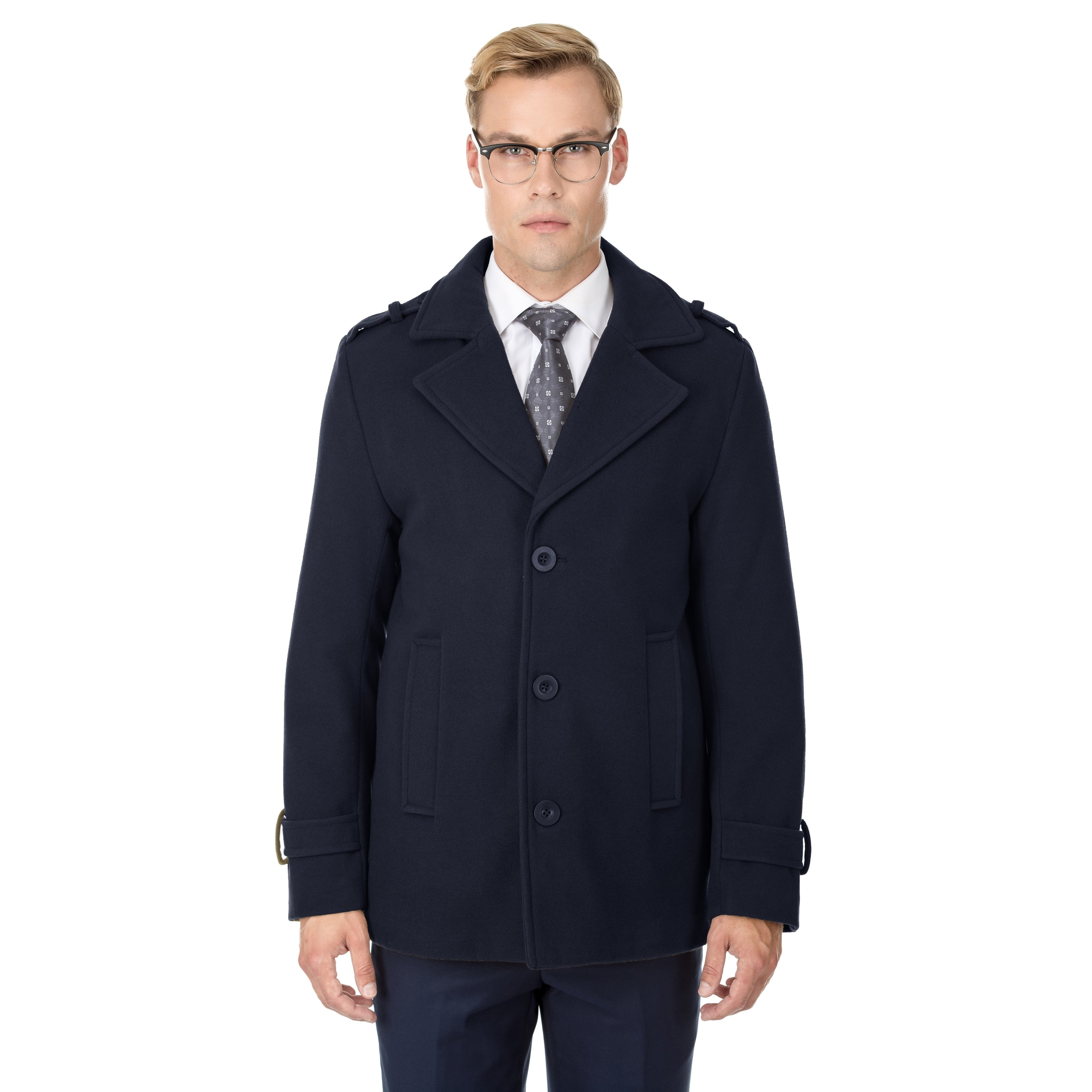 d0806e9461 Braveman Men's Single Breasted Wool Blend Coats