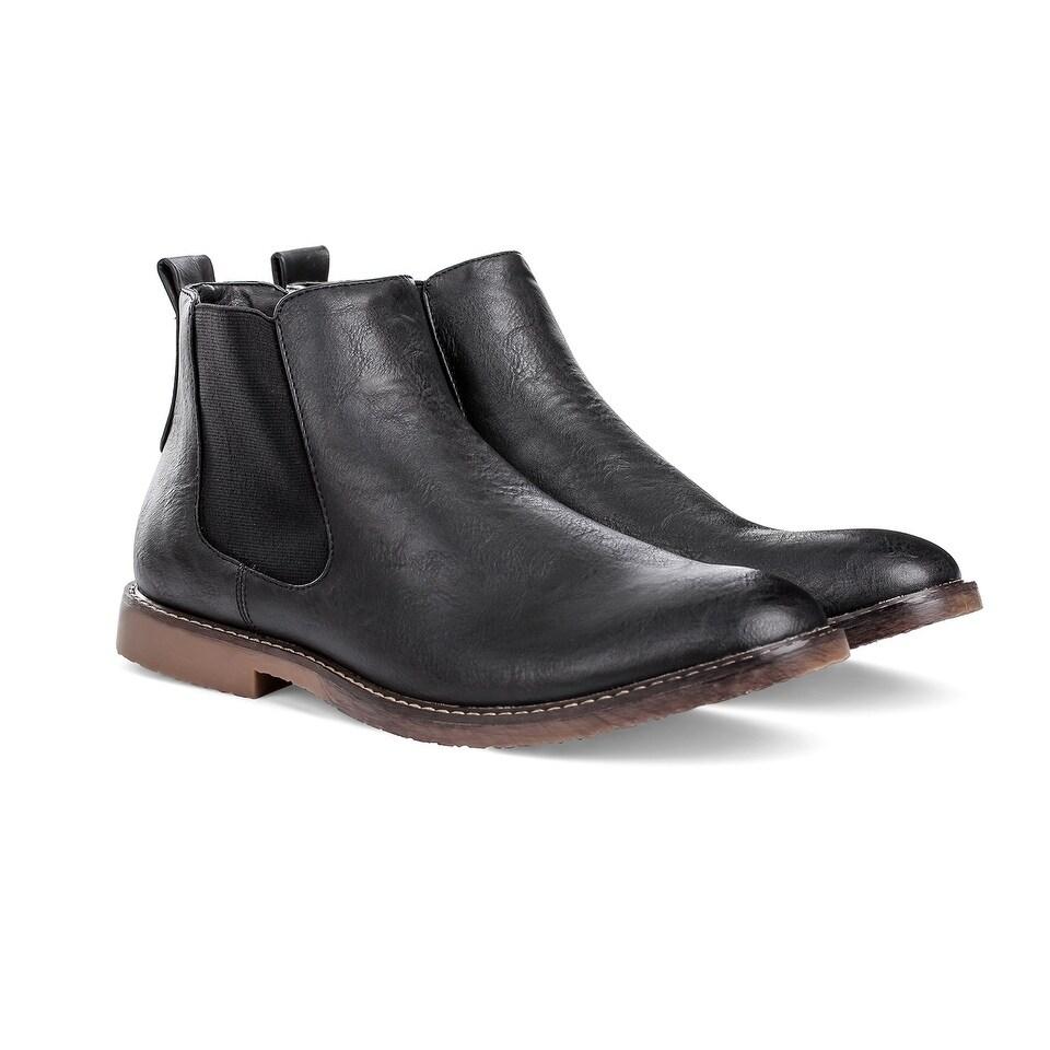 f8c06e73e Shop Miko Lotti Men's Chelsea Boots - On Sale - Free Shipping Today -  Overstock - 18065135