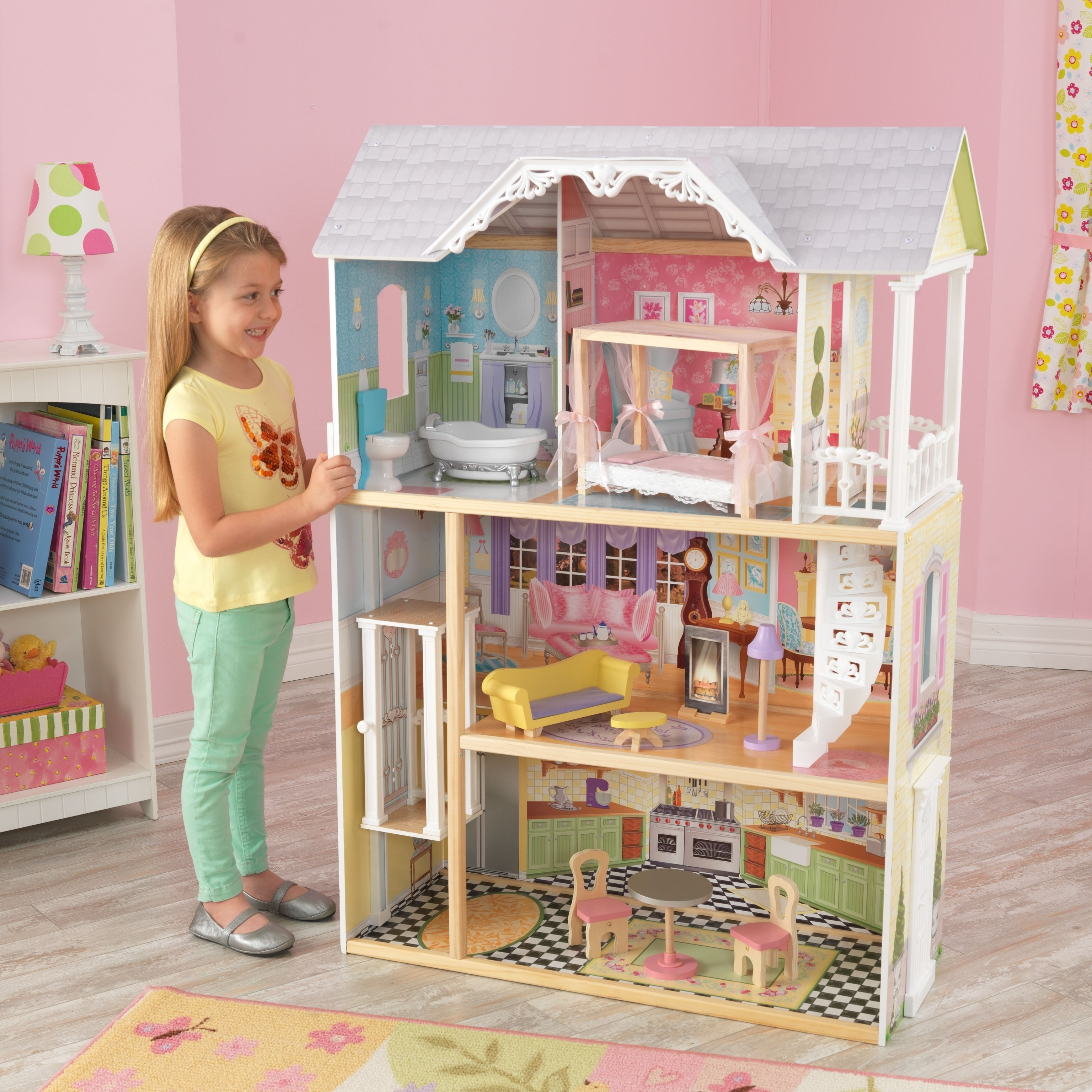 Shop Kaylee Dollhouse Free Shipping Today Overstock Com 18065205