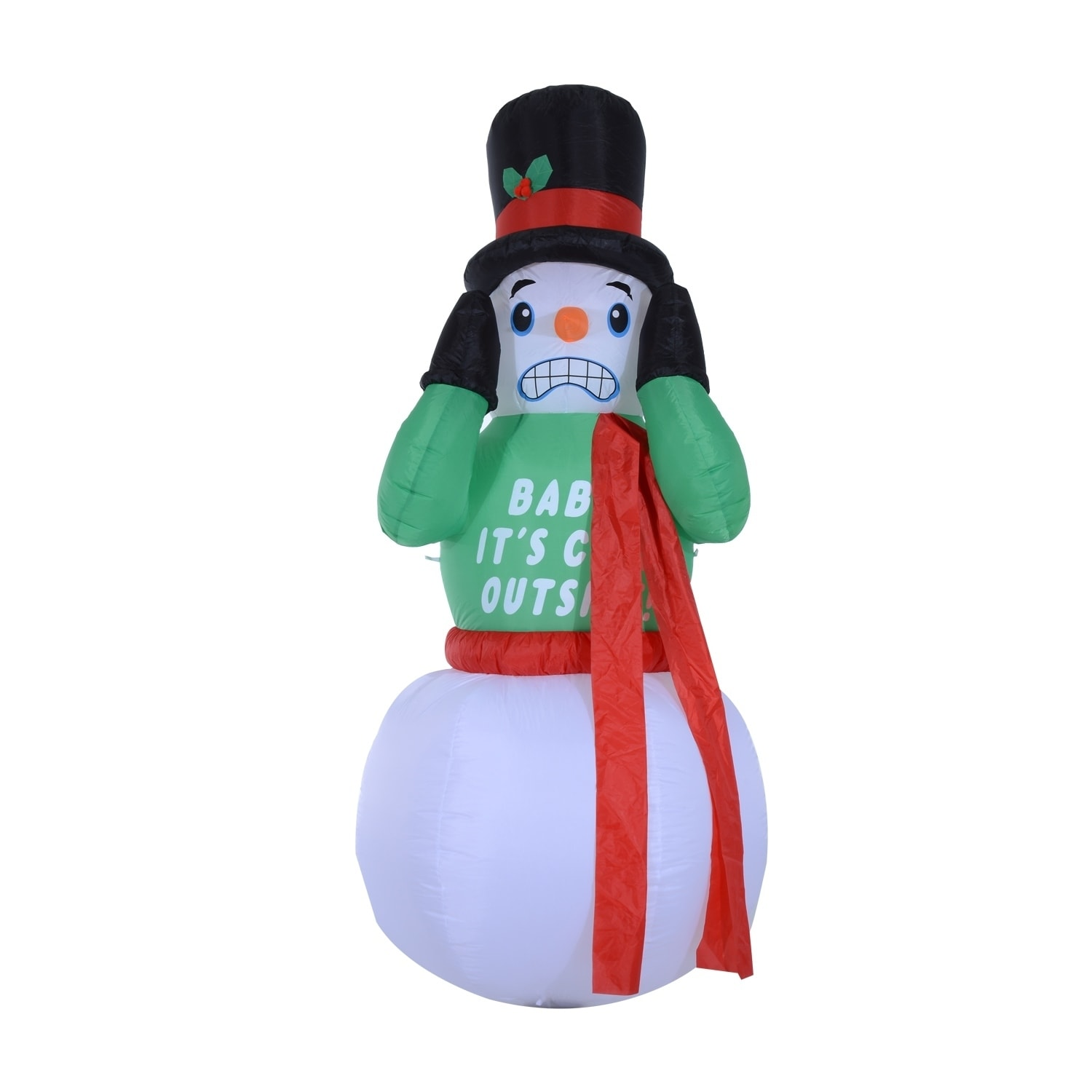 Shop HomCom 6.5\' Outdoor Lighted Christmas Inflatable - Shaking ...