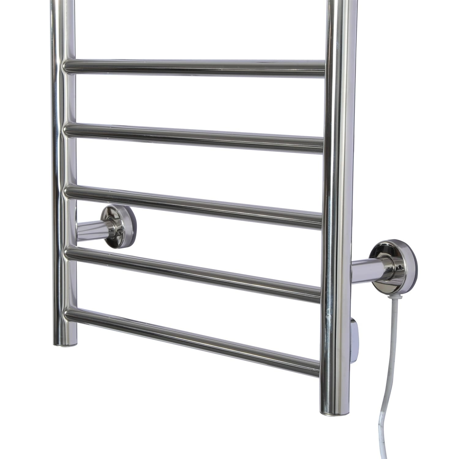 Homcom 10 Bar Stainless Steel Wall Mounted Electric Heated Towel Warmer Rack Free Shipping Today 18074000