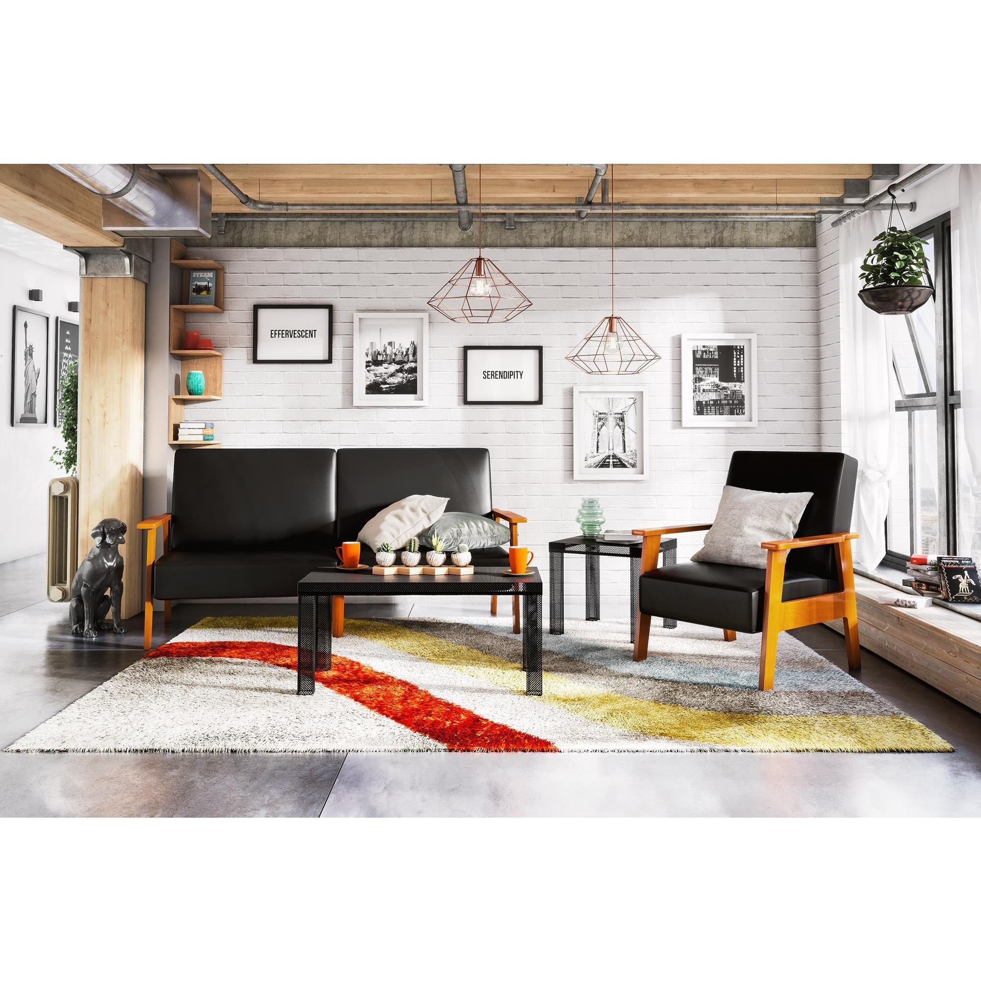 Novogratz The Asher Black Futon - Free Shipping Today - Overstock ...