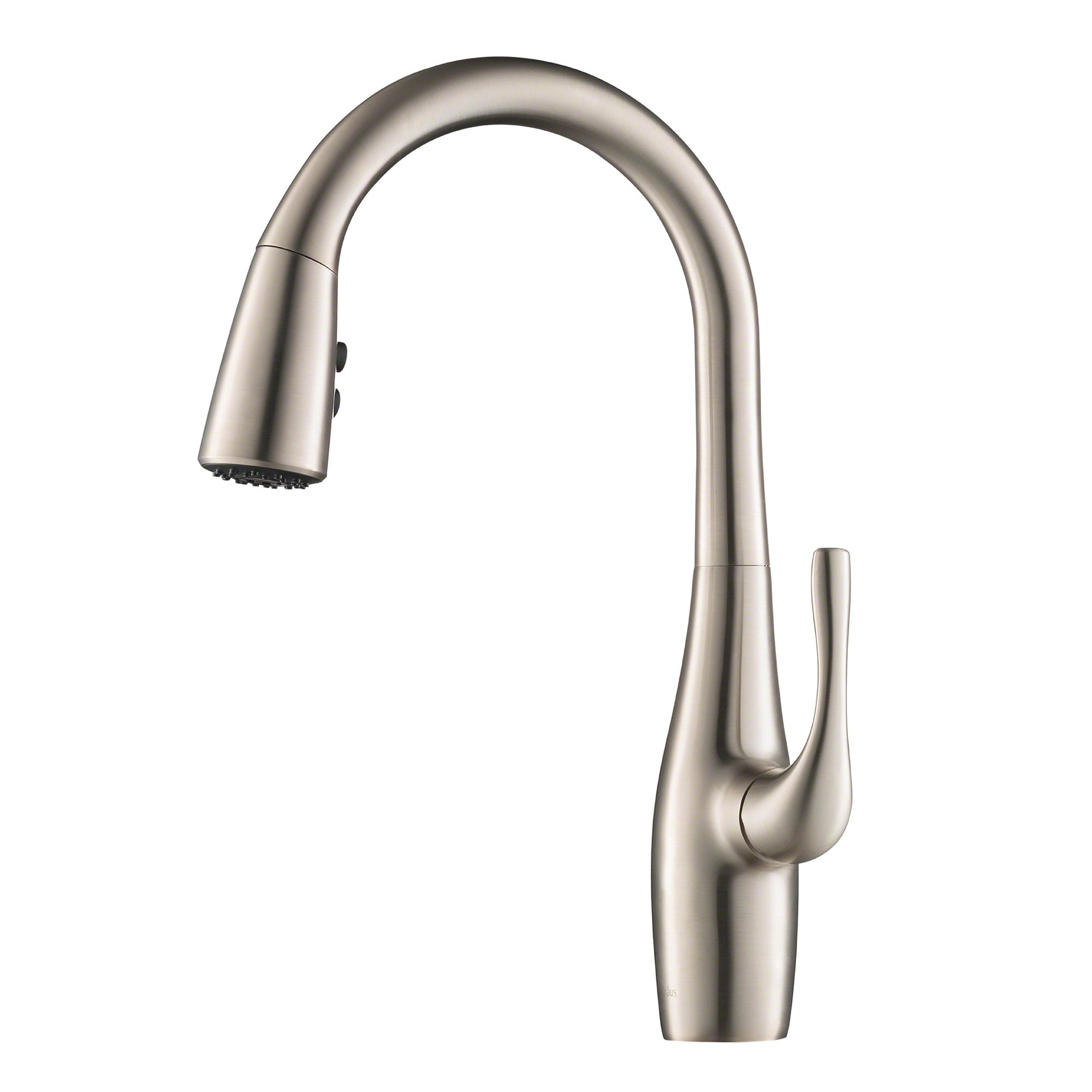 Kraus KPF-1670 Esina 1-Handle 2-Function Pull Down Kitchen Faucet, Spot  Free Stainless Steel and Matte Black finishes | Overstock.com Shopping -  The ...