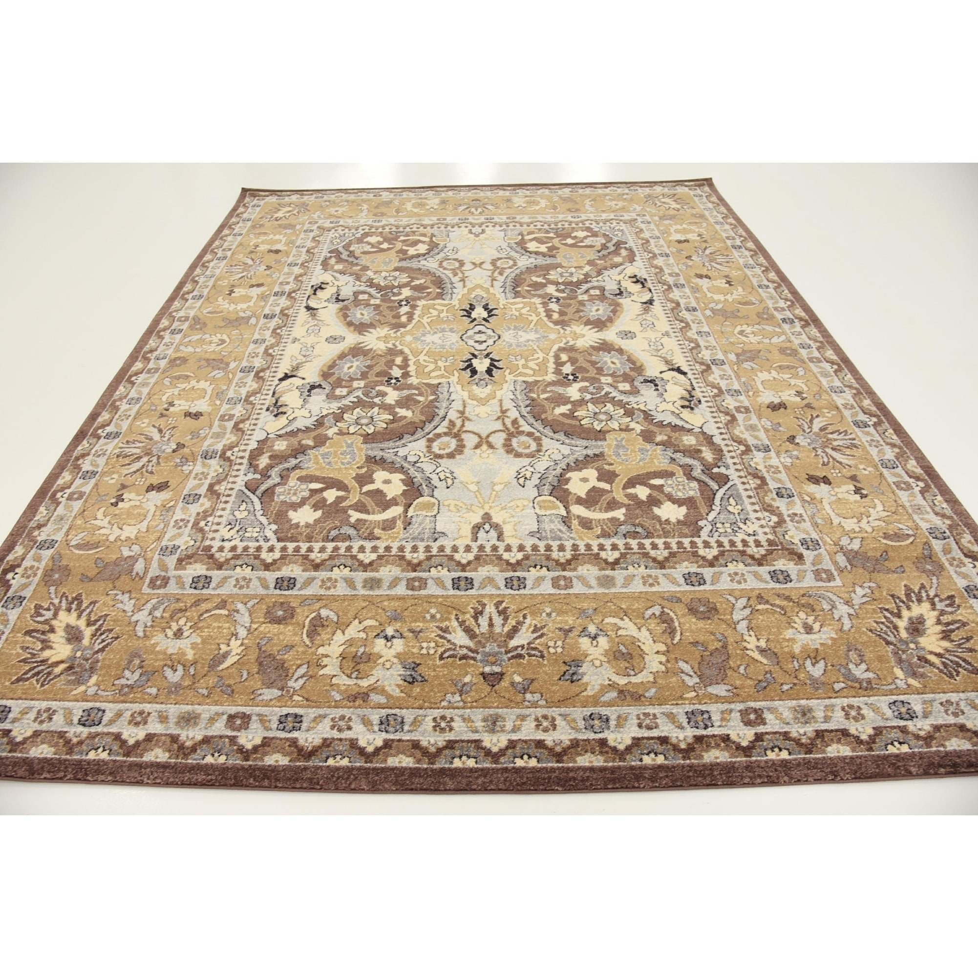 Turkish Heritage Tradition Abstract Area Rug 8 X 10 Free