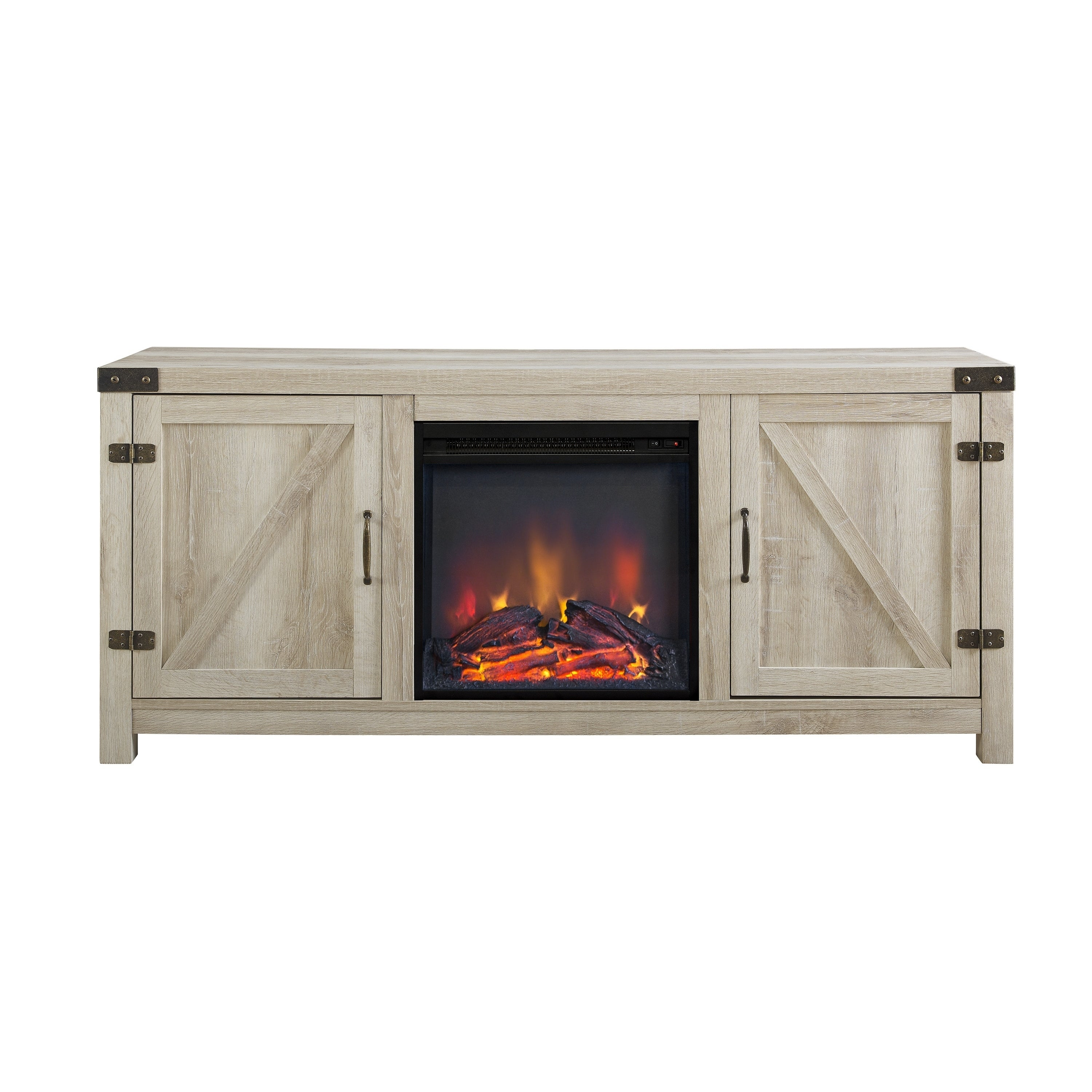 space with new oak tv heater of inch photos amazing fireplace decoration electric small stand