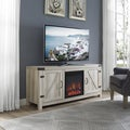 The Gray Barn Firebranch White Oak TV Stand