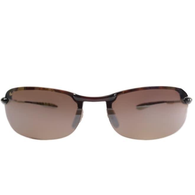 46c66b73843 Shop Maui Jim Unisex Makaha H405 10 Tortoise Frame HCL Bronze Polarized  Lens Rimless Sunglasses - Free Shipping Today - Overstock - 18088658