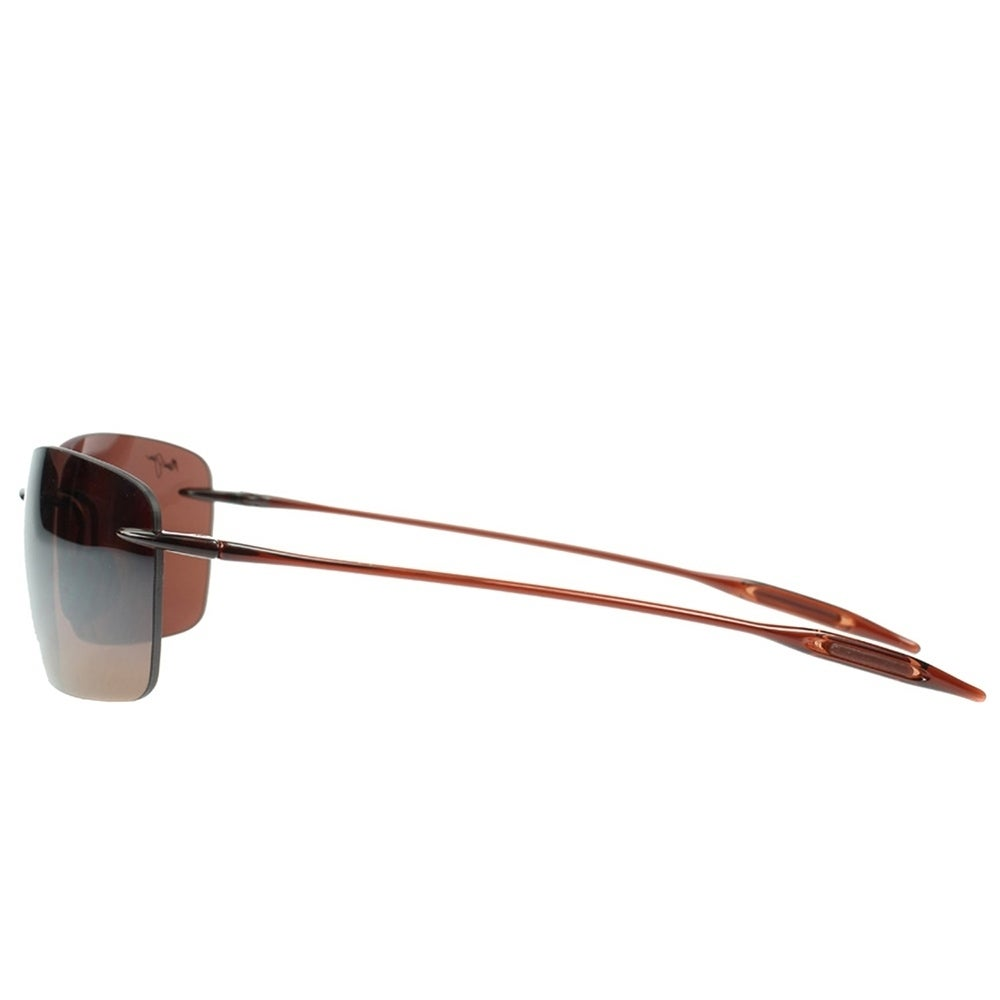 e693a86ad406 Shop Maui Jim Unisex Lighthouse H423 26 Rootbeer Frame HCL Bronze Polarized  Lens Rimless Sunglasses - Free Shipping Today - Overstock - 18088661
