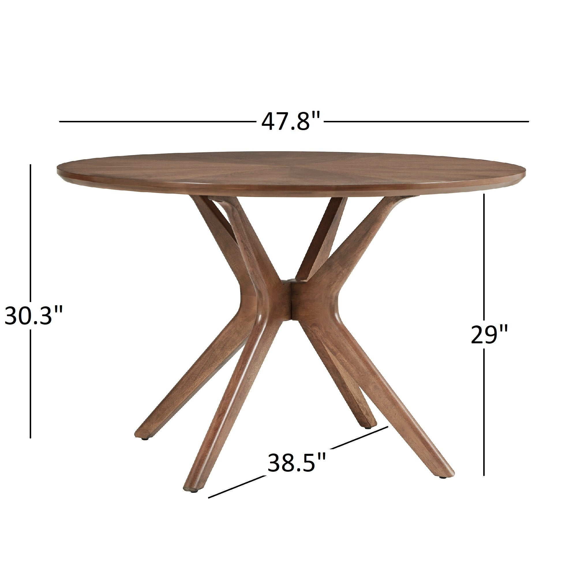 benchwright inch collection tables by with of base round solutions pedestal x on set rustic table dining additional
