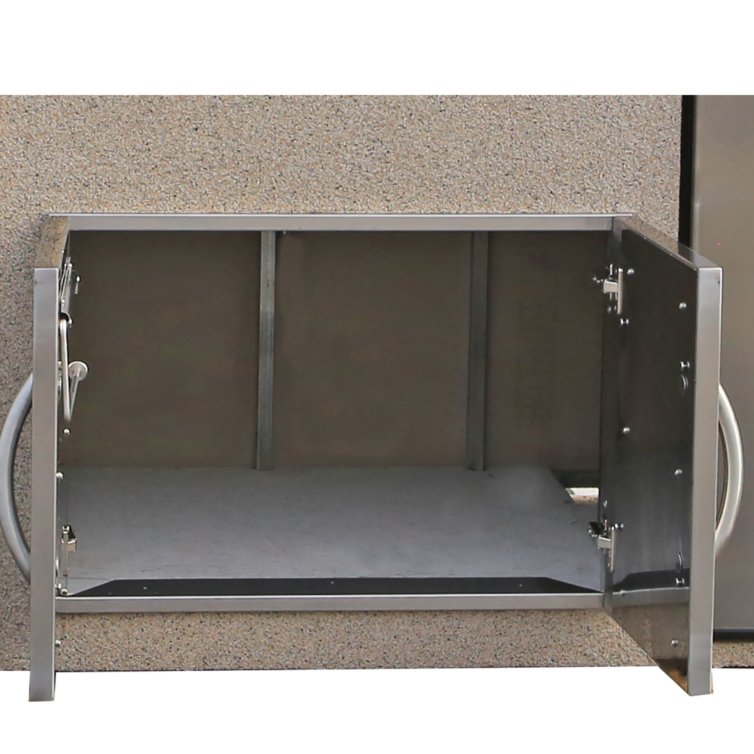 Paradise Stucco Tile Outdoor Entertainment Center With Refrigerators Free Shipping Today 18090260