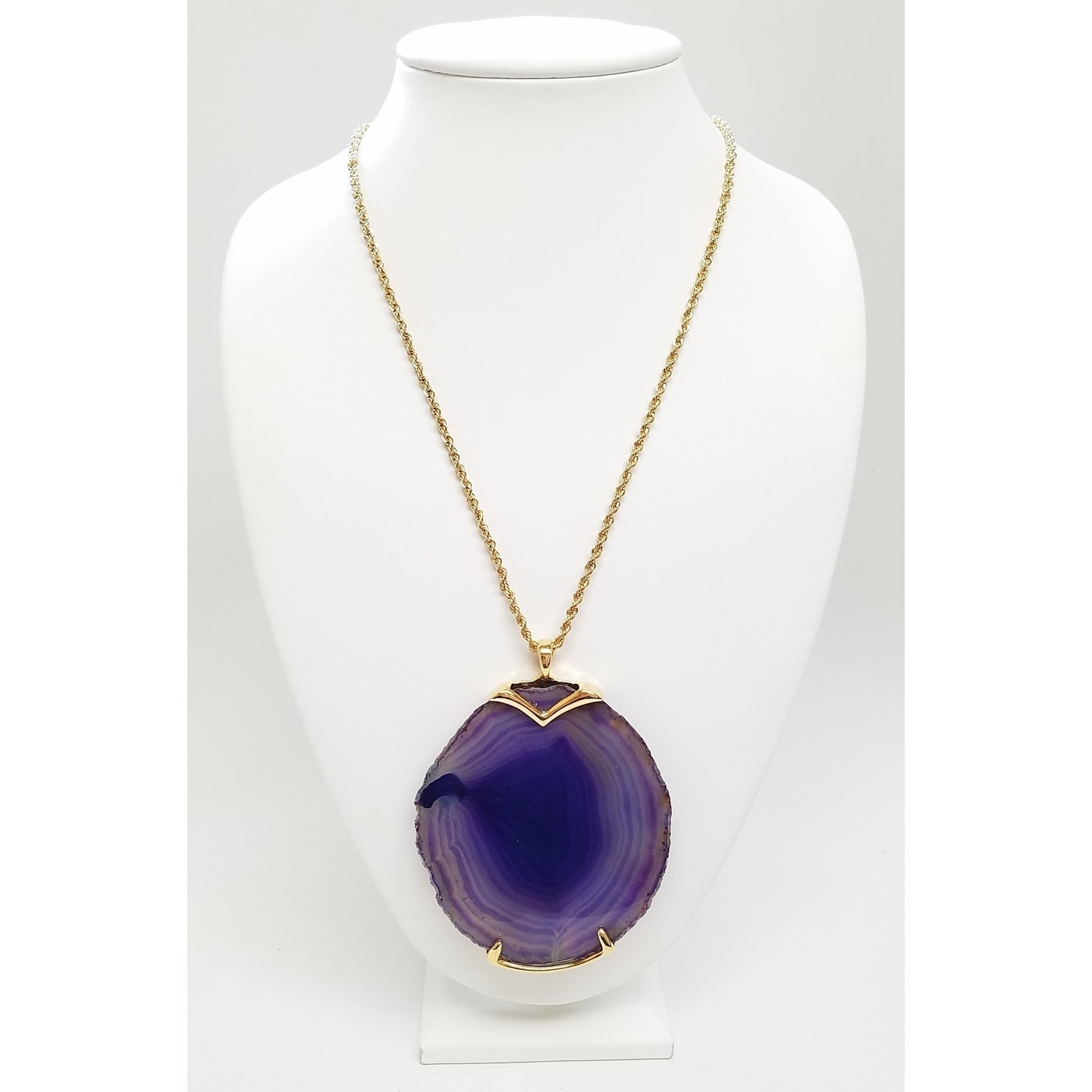 grabr glow products moonstone stone purple necklace image deal moon luminous product