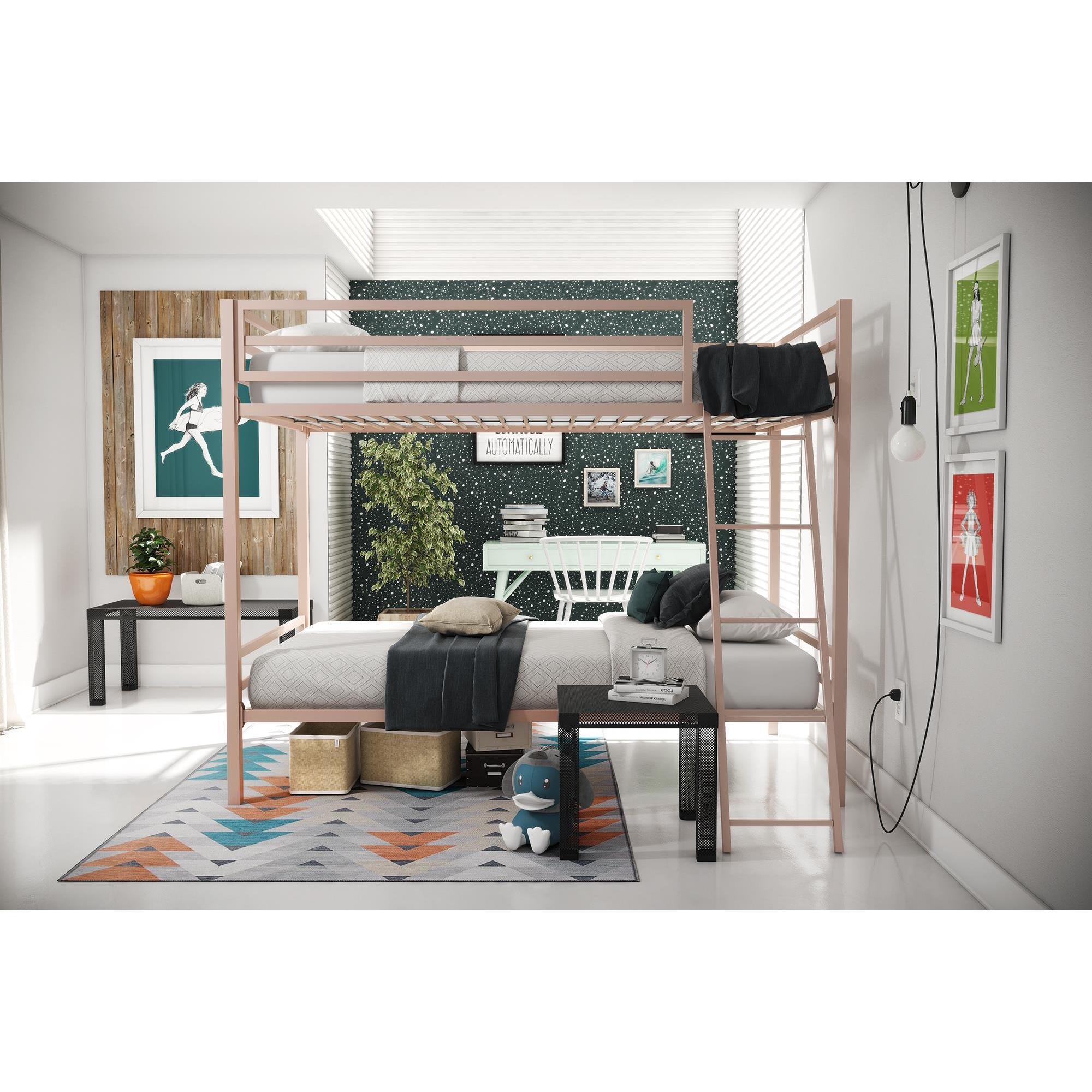 kids lily low beds ceiling bed curtain curtains progressive max wood solid products bunk