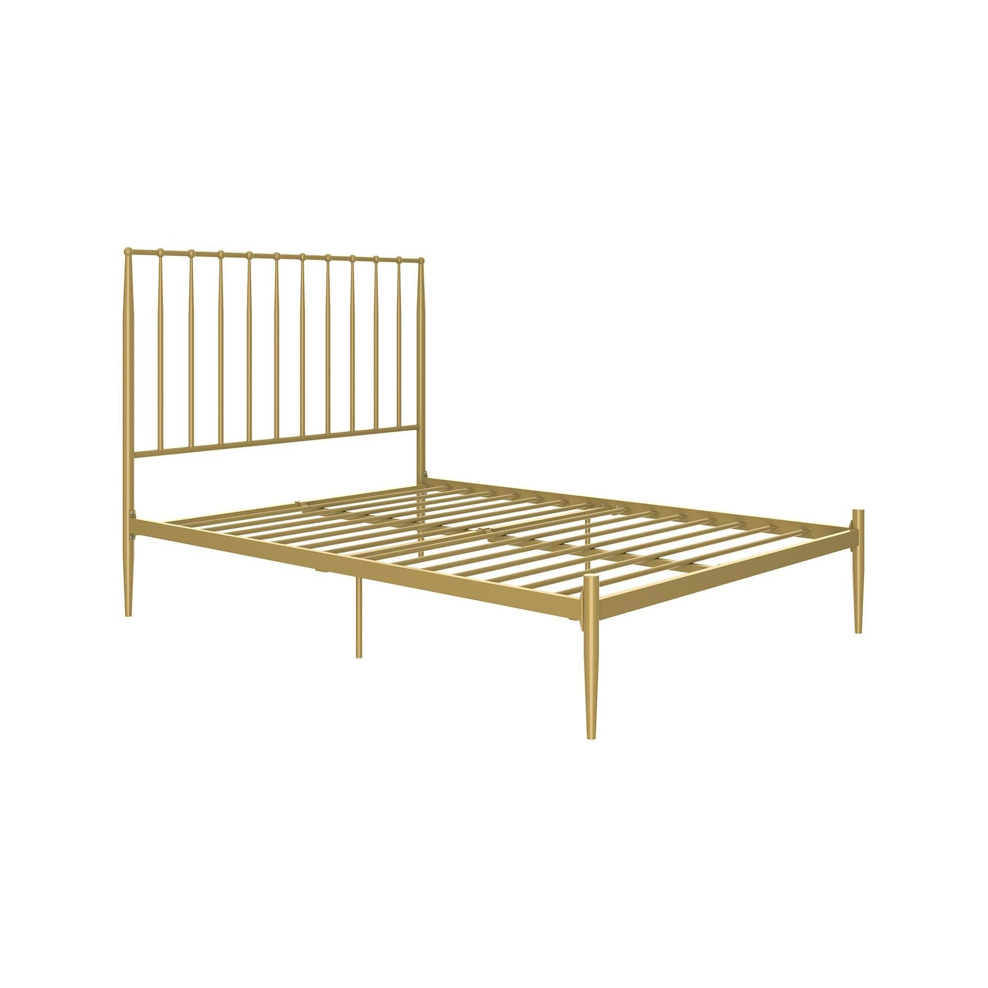 dhp giulia modern metal bed free shipping today overstockcom 24250156 - Modern Metal Bed Frame