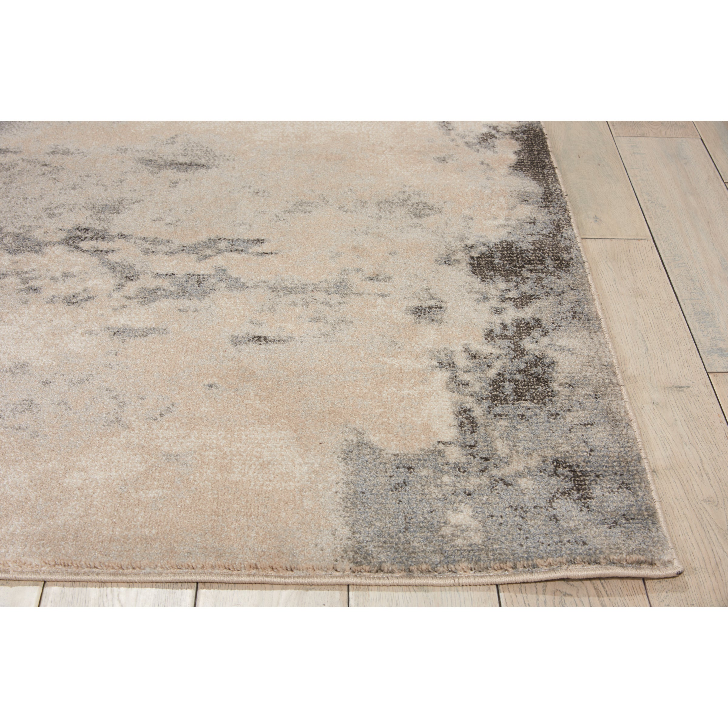 Shop Nourison Maxell Distressed Collection Ivorygrey Area Rug 93