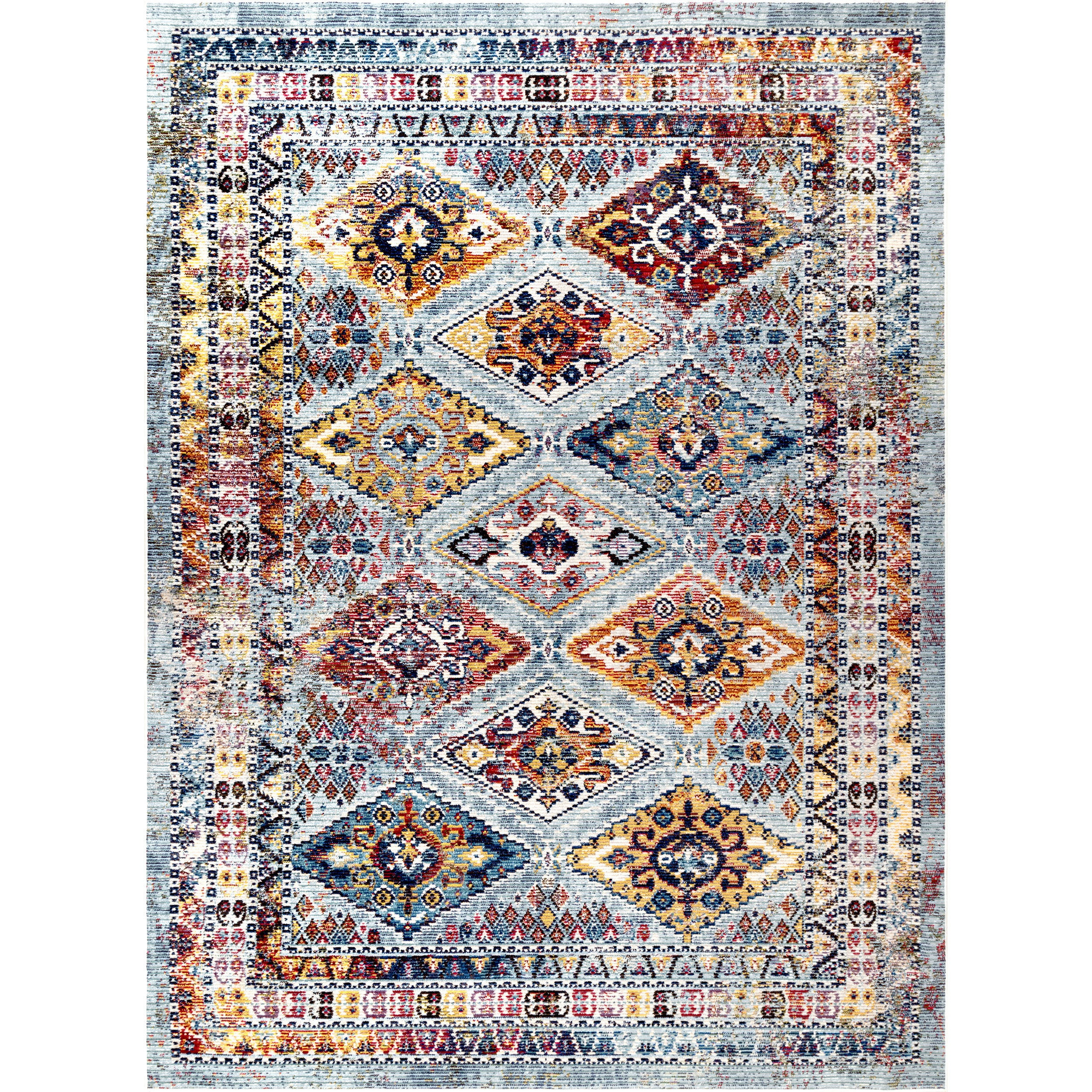 rugs cm bakhtiari rug tribal antique x product persian