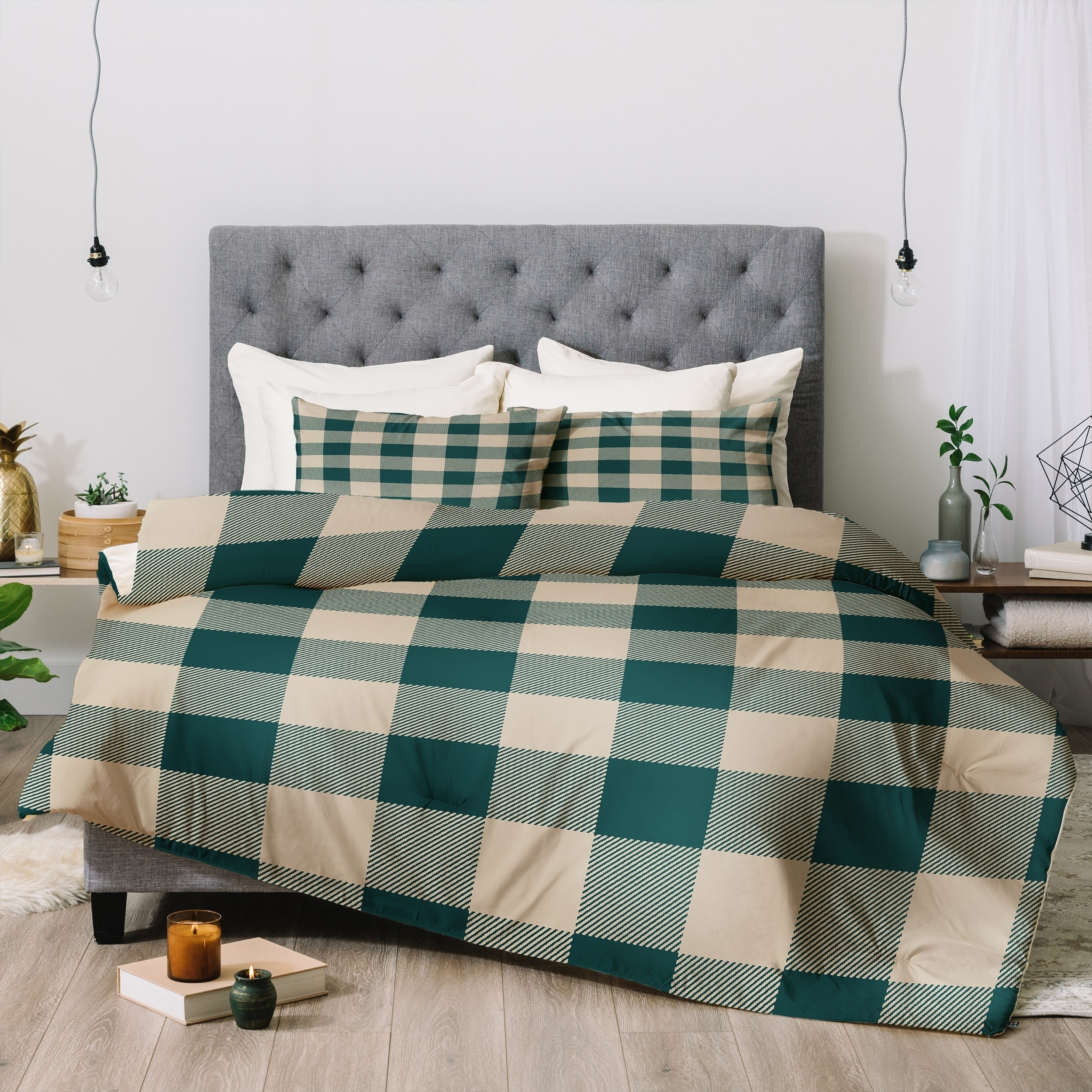overstock set eddie shipping free alder sets bedding plaid today bauer bath comforter product