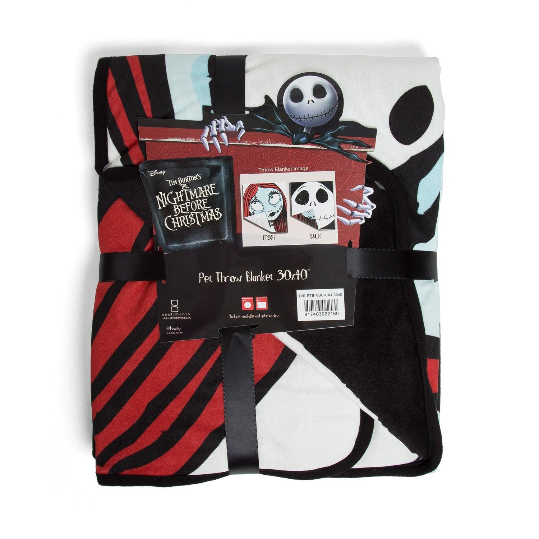 Shop Disney Nightmare Before Christmas Pet Throw Blanket - Free ...