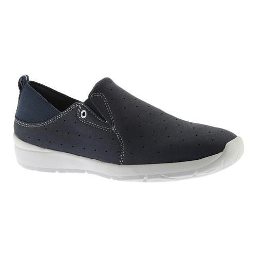 Women's Easy Spirit Getflex Slip On Navy/Navy Fabric