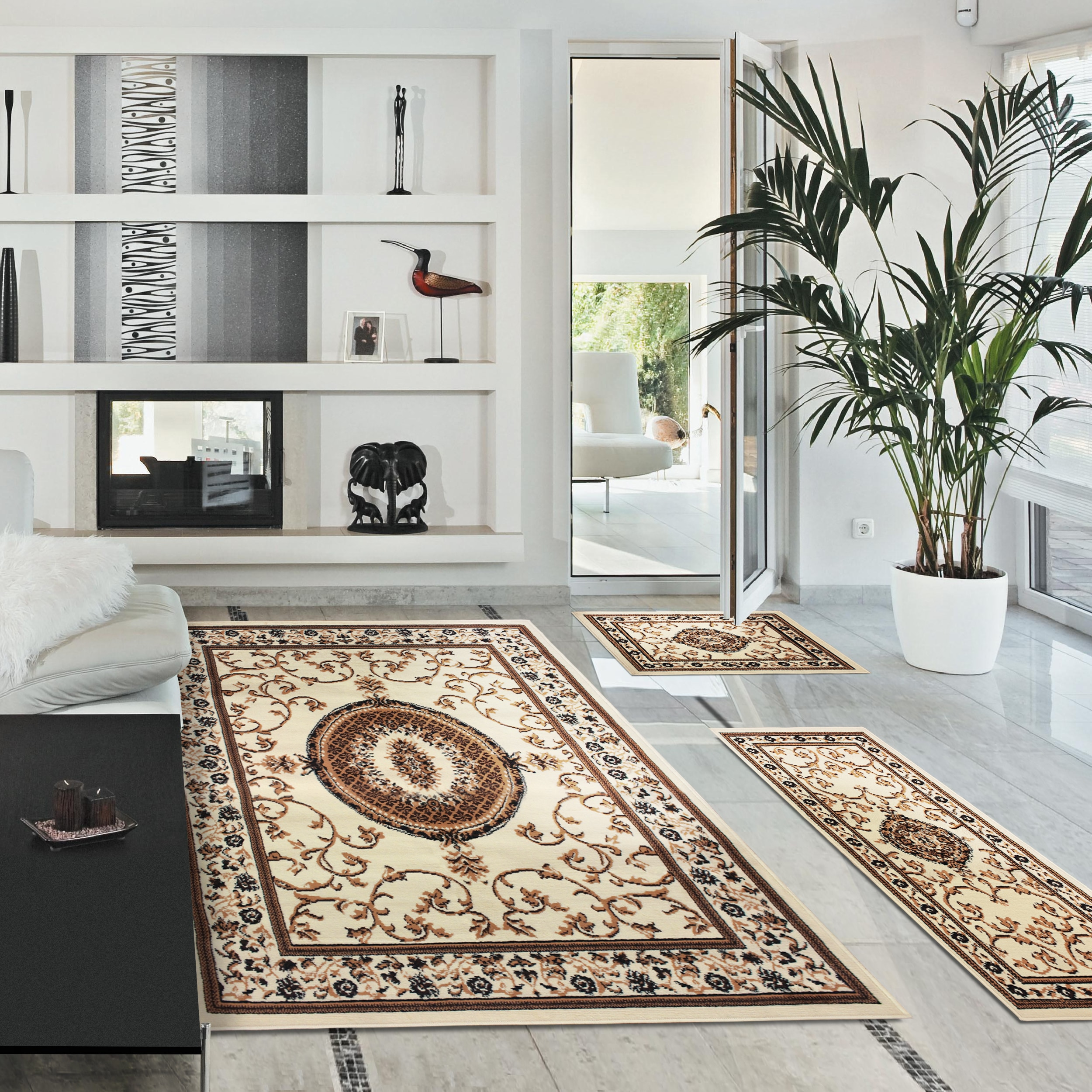 Superior Designer Clementina 3-piece Area Rug Set - Free Shipping ...