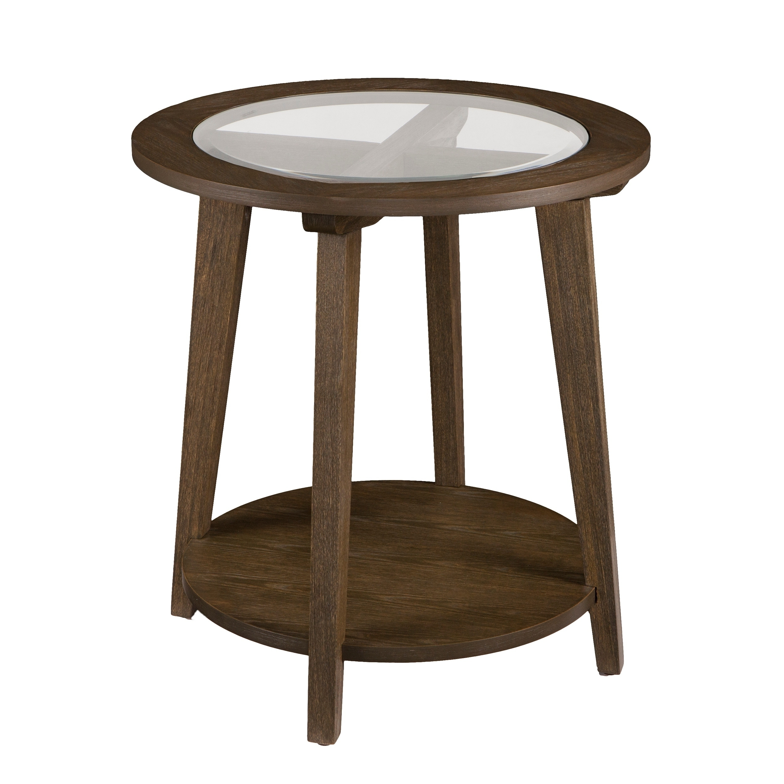 Shop Harper Blvd Charlton Round End Table   Burnt Oak   On Sale   Free  Shipping Today   Overstock.com   18100584