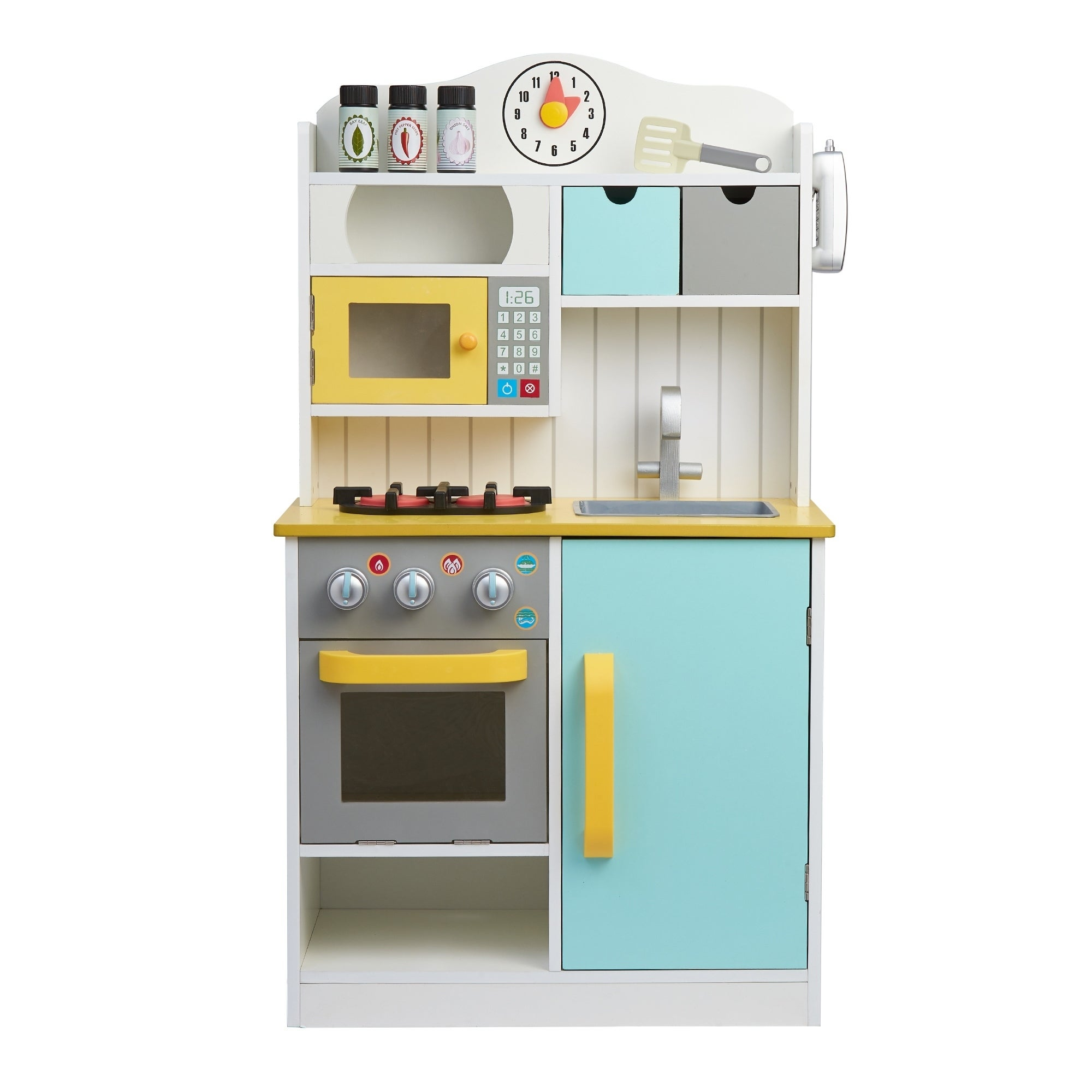Shop Teamson Kids - Florence Small Play Kitchen - White / Green ...