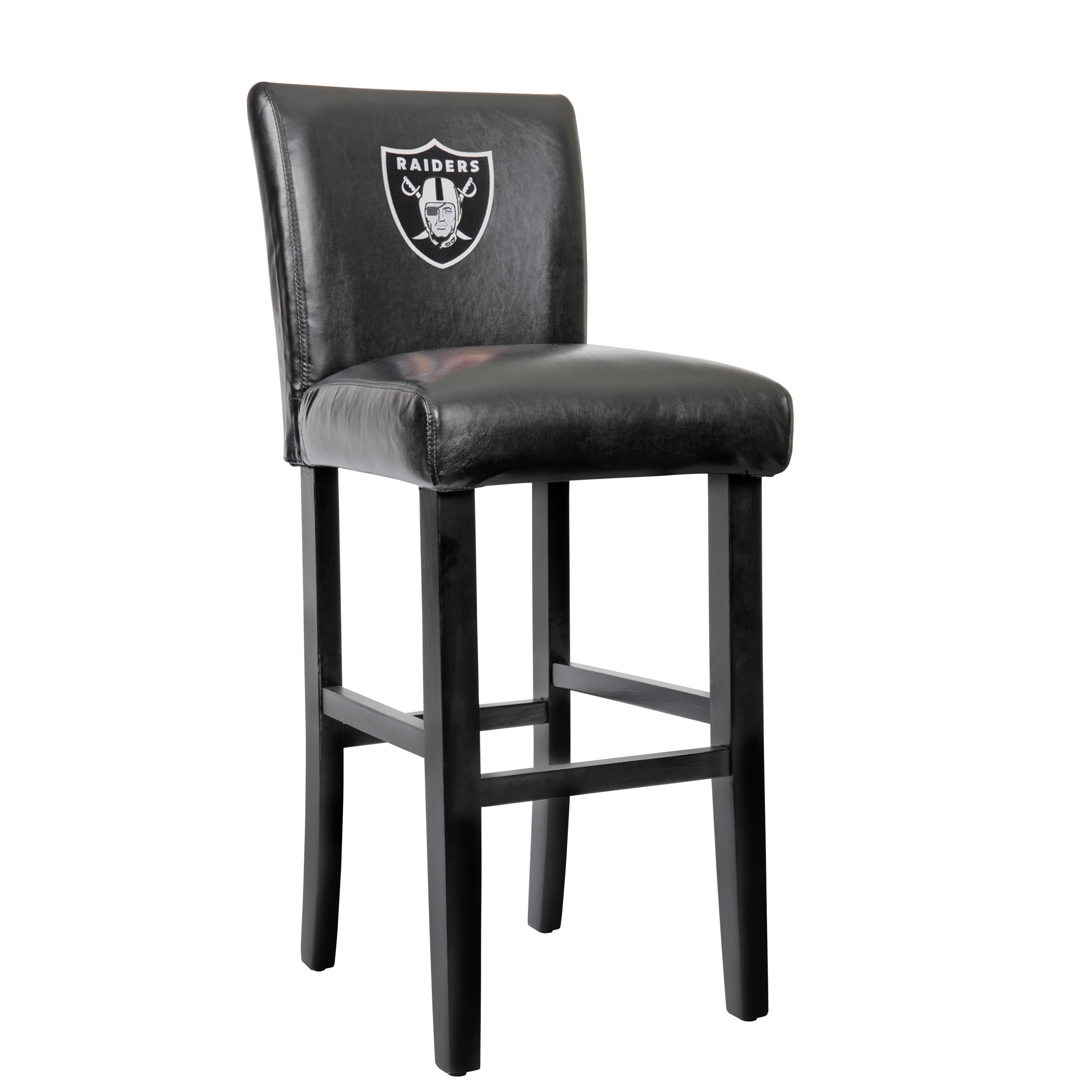 Shop Oakland Raiders Model 30OR Officially Licensed 30 Inch Parsons Bar  Stools (sold 2/carton) With Embroidered NFL Logo.   On Sale   Free Shipping  Today ...