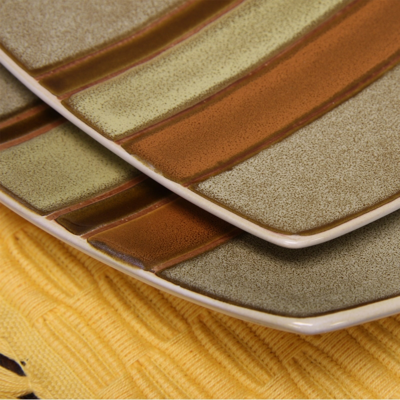 Shop Gibson Regent Classic 16 Piece Dinnerware Set in Taupe - Free ...