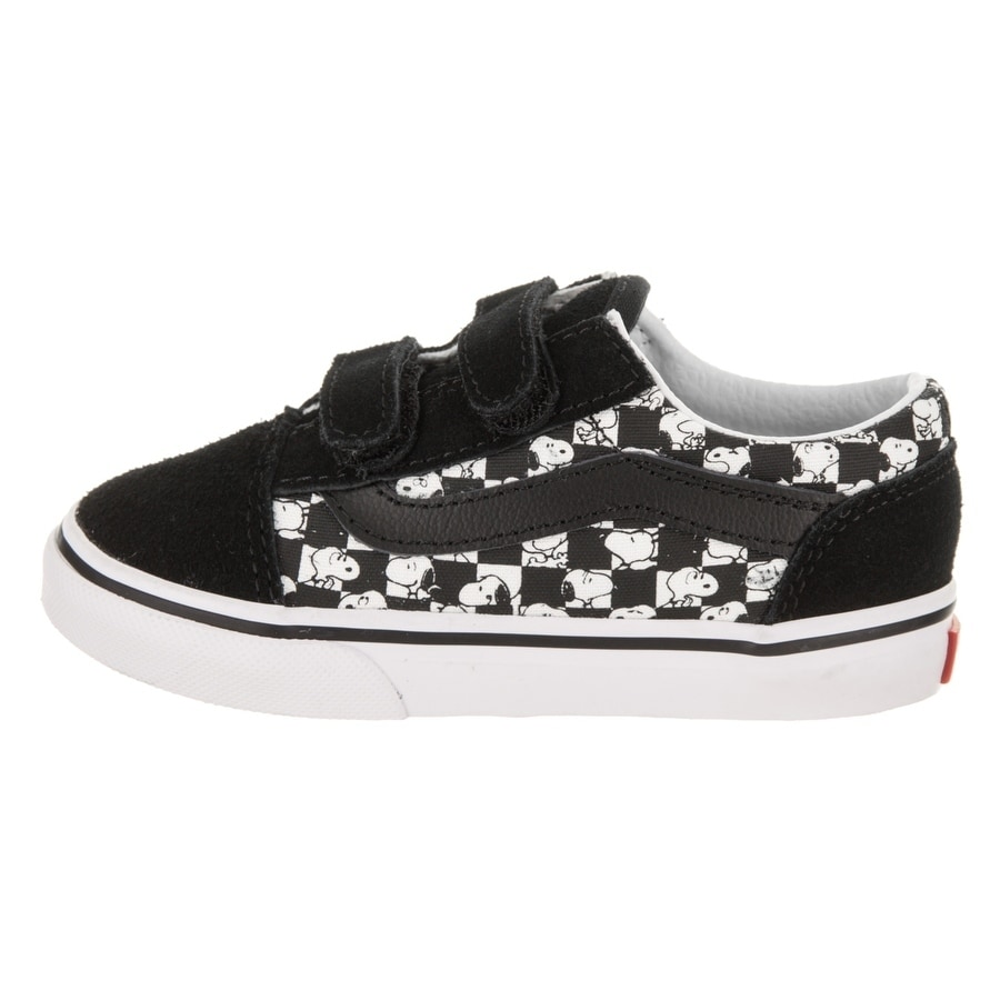 1ea0a02660e5 Shop Vans Toddlers Old Skool V (Peanuts) Skate Shoe - Free Shipping Today -  Overstock.com - 18107779