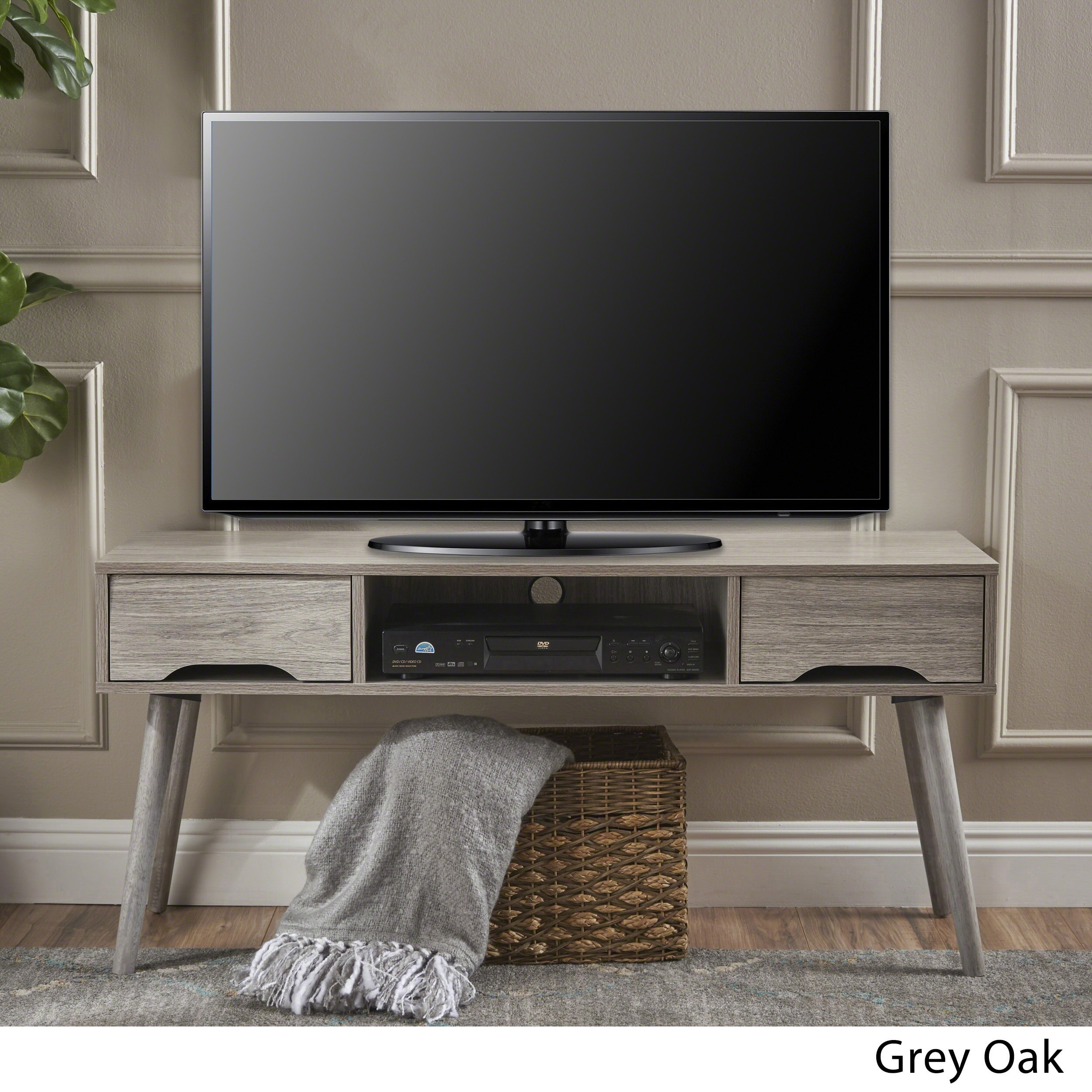 Shop Frieda Mid Century Modern Wood Tv Stand With Drawers By