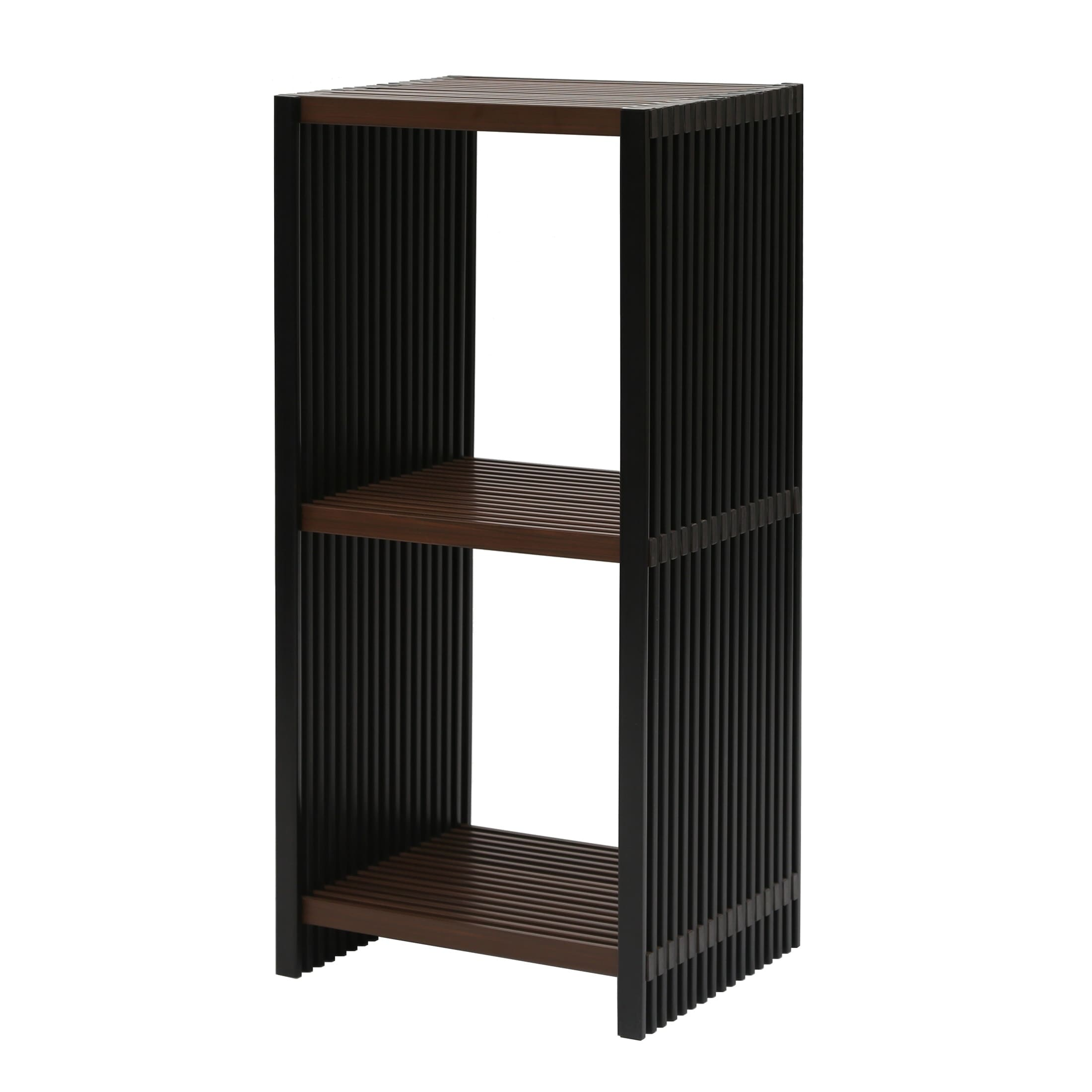 storage bookcases tier espresso shelves in products bookcase finish