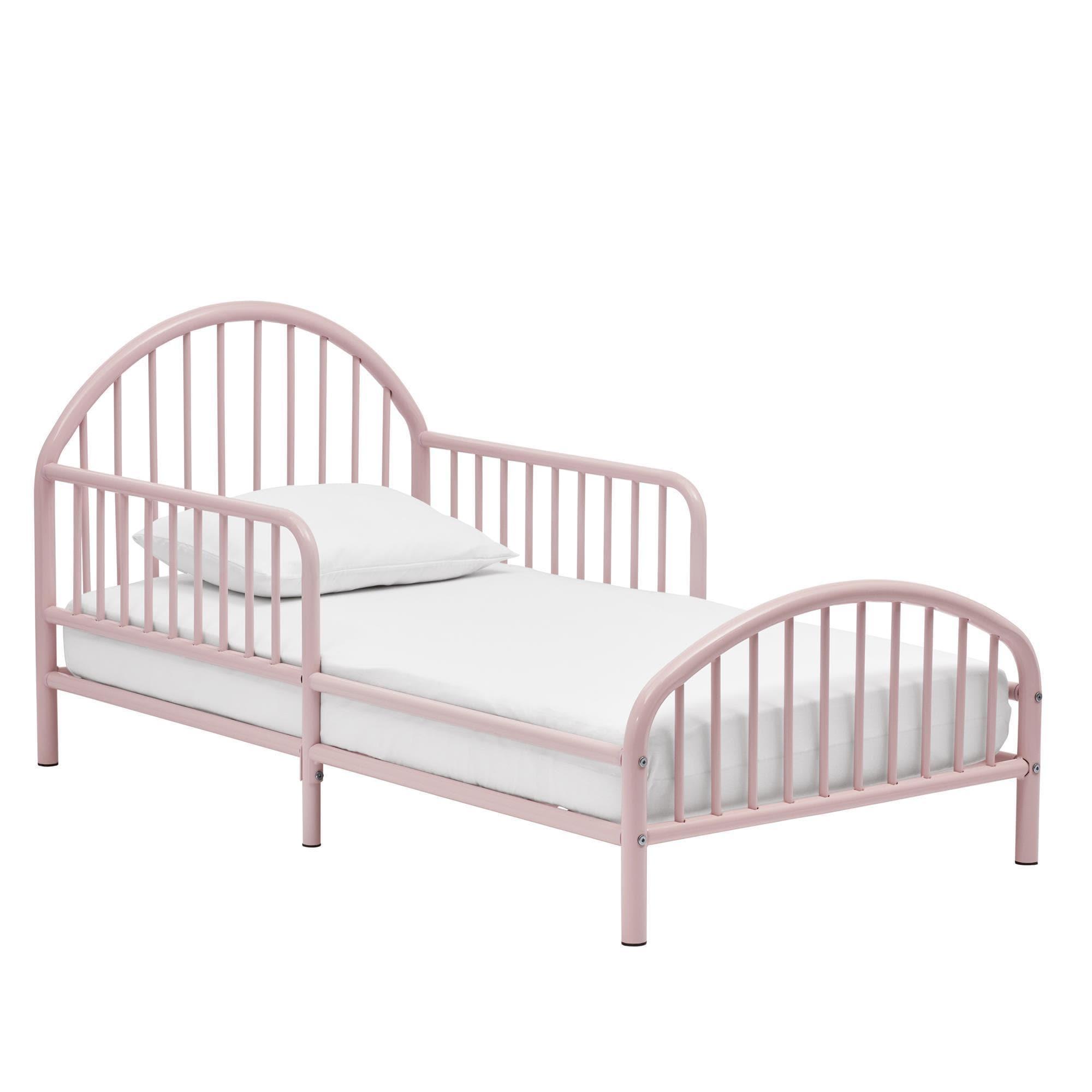 novogratz prism metal toddler bed free shipping today overstockcom 24267122 - Metal Toddler Bed Frame