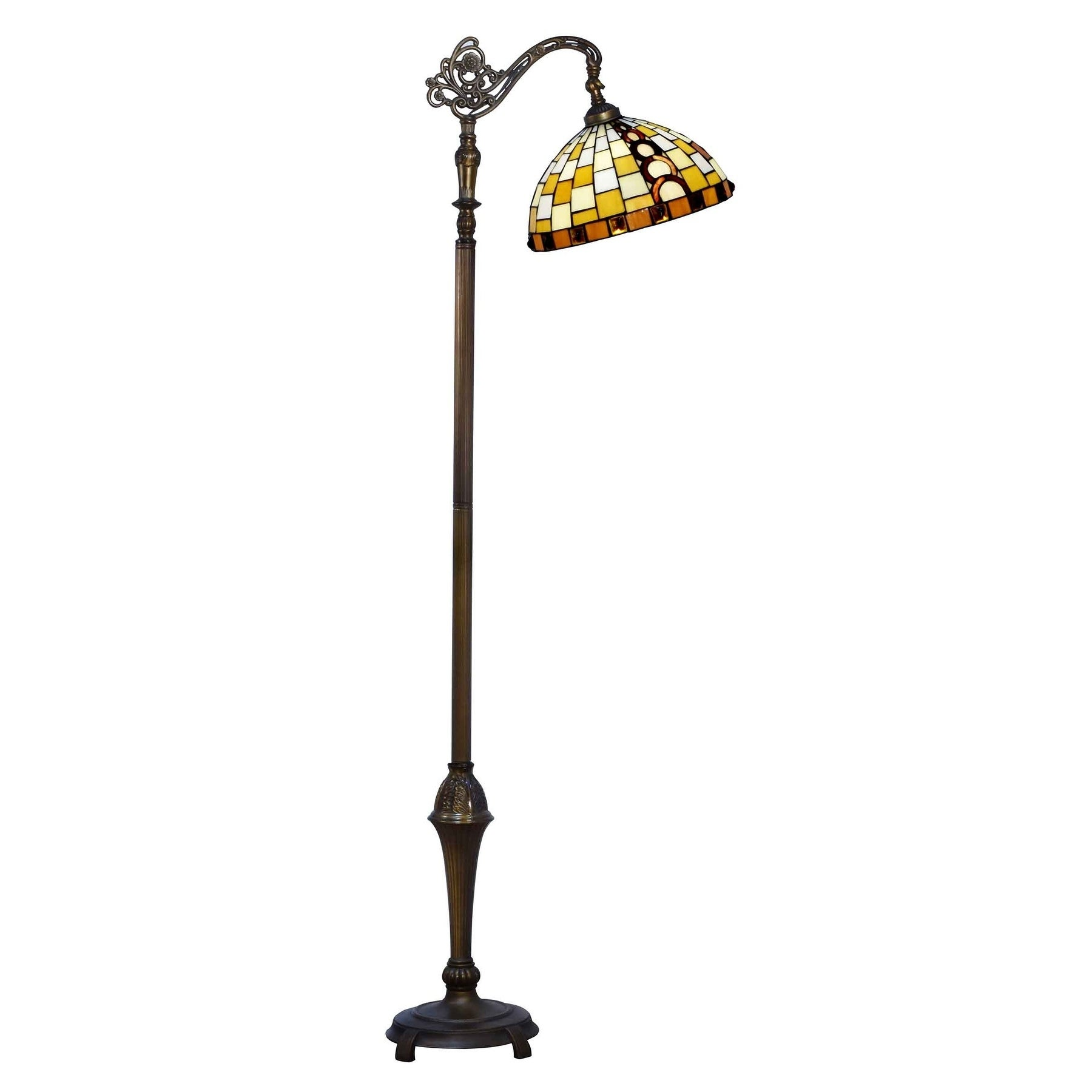Shop dale tiffany select 63 in h mackey directional downbridge shop dale tiffany select 63 in h mackey directional downbridge floor lamp on sale free shipping today overstock 18111520 aloadofball Images