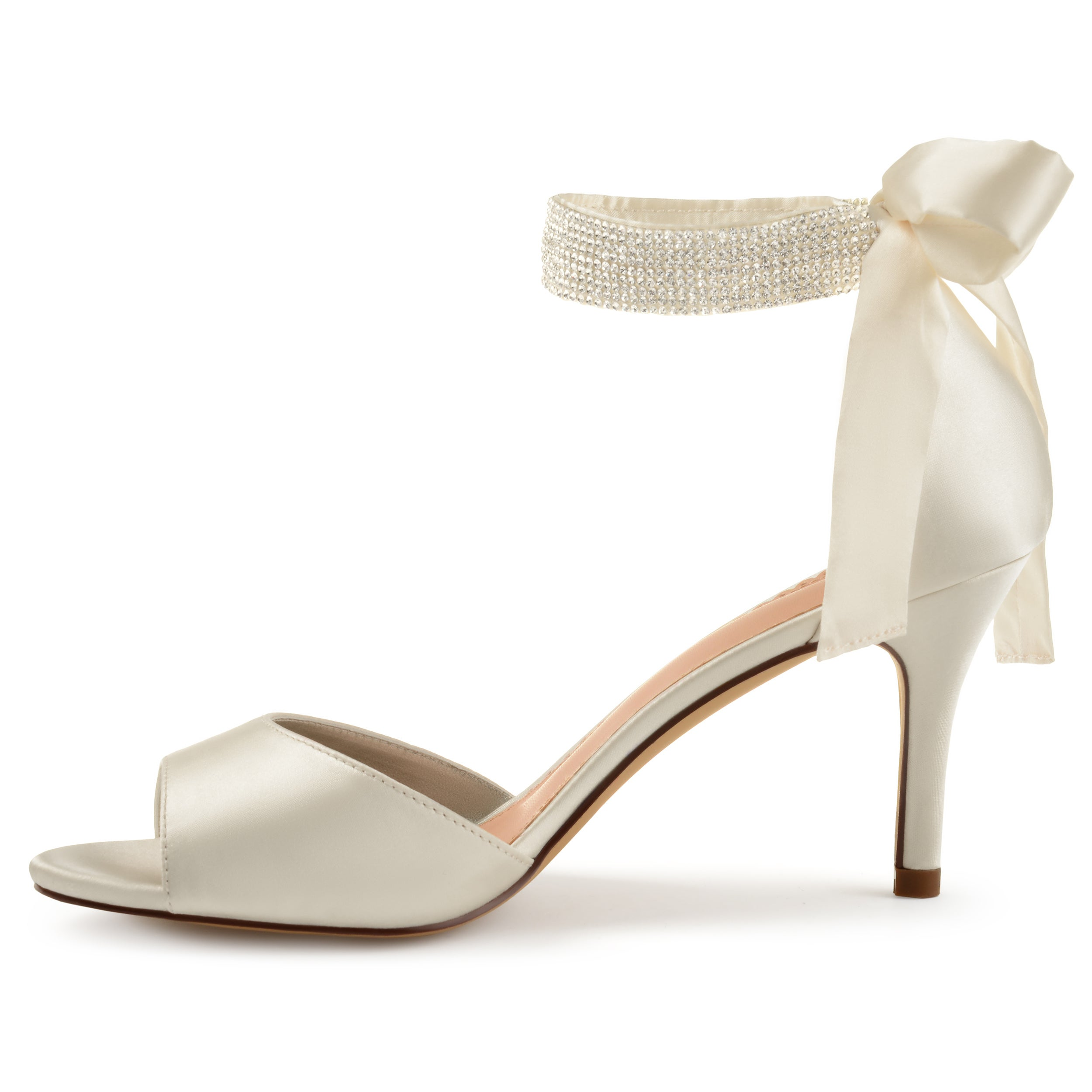 50ddcb692139d9 Shop Journee Collection Women s  Briela  Open-toe Rhinestone Ankle Strap  High Heels - On Sale - Free Shipping Today - Overstock - 18113689