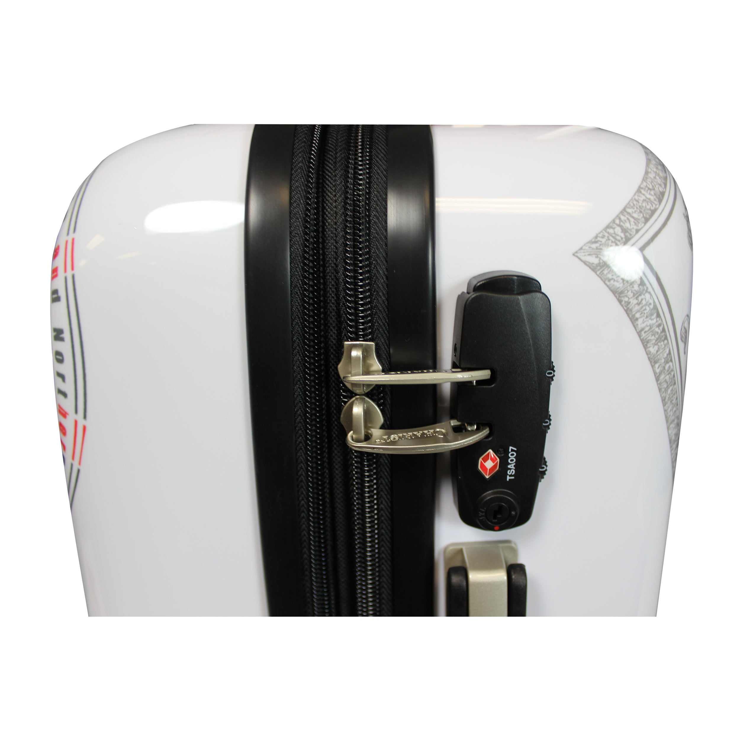 e90fd8e52092 Chariot UK Doggie 20-Inch Hardside Lightweight Upright Spinner Carry-On  Suitcase