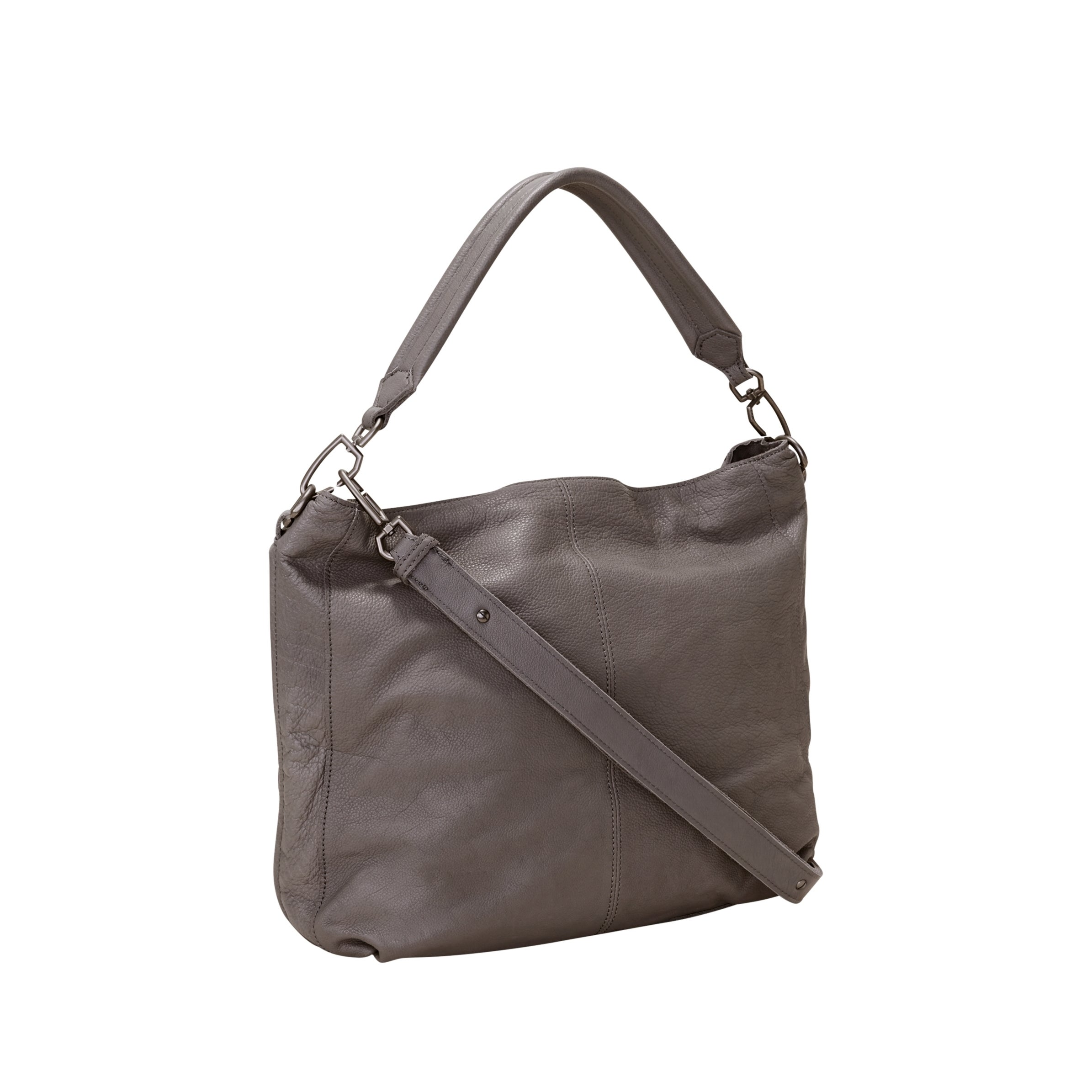 a9d16fddec02 Shop Liebeskind Berlin Miramar Sporty Leather Hobo Handbag - Free Shipping  Today - Overstock - 18114295