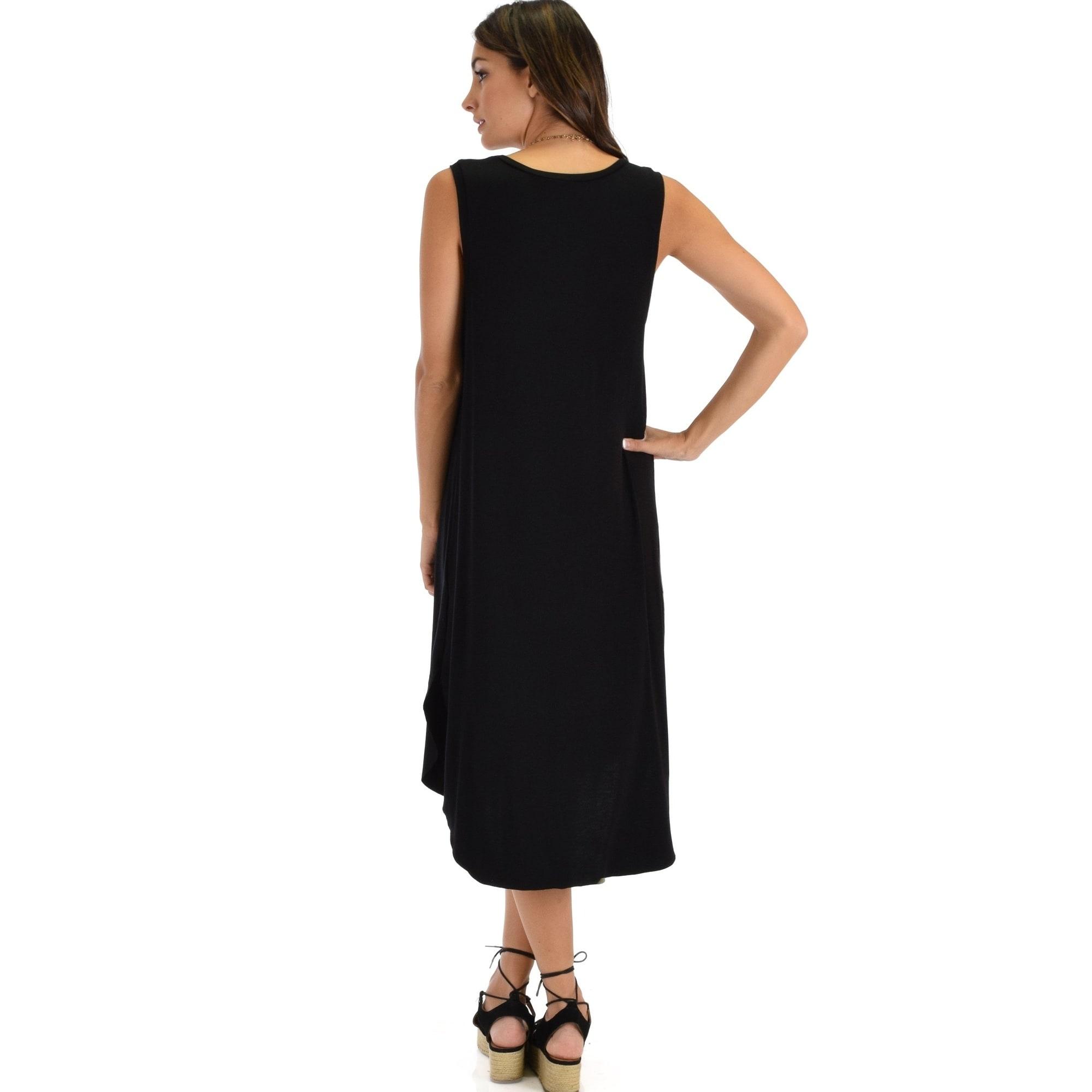 b004be32ab Shop Lyss Loo Mood And Melody Side Slit T-Shirt Dress