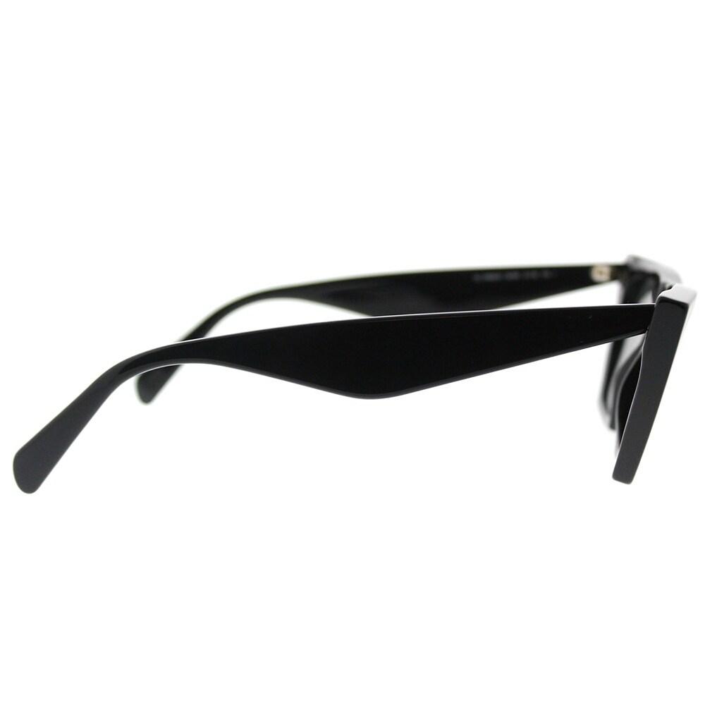 55fee6b131 Shop Celine Cat Eye CL 41468 807 Womens Black Frame Grey Lens Sunglasses - Free  Shipping Today - Overstock - 18117916