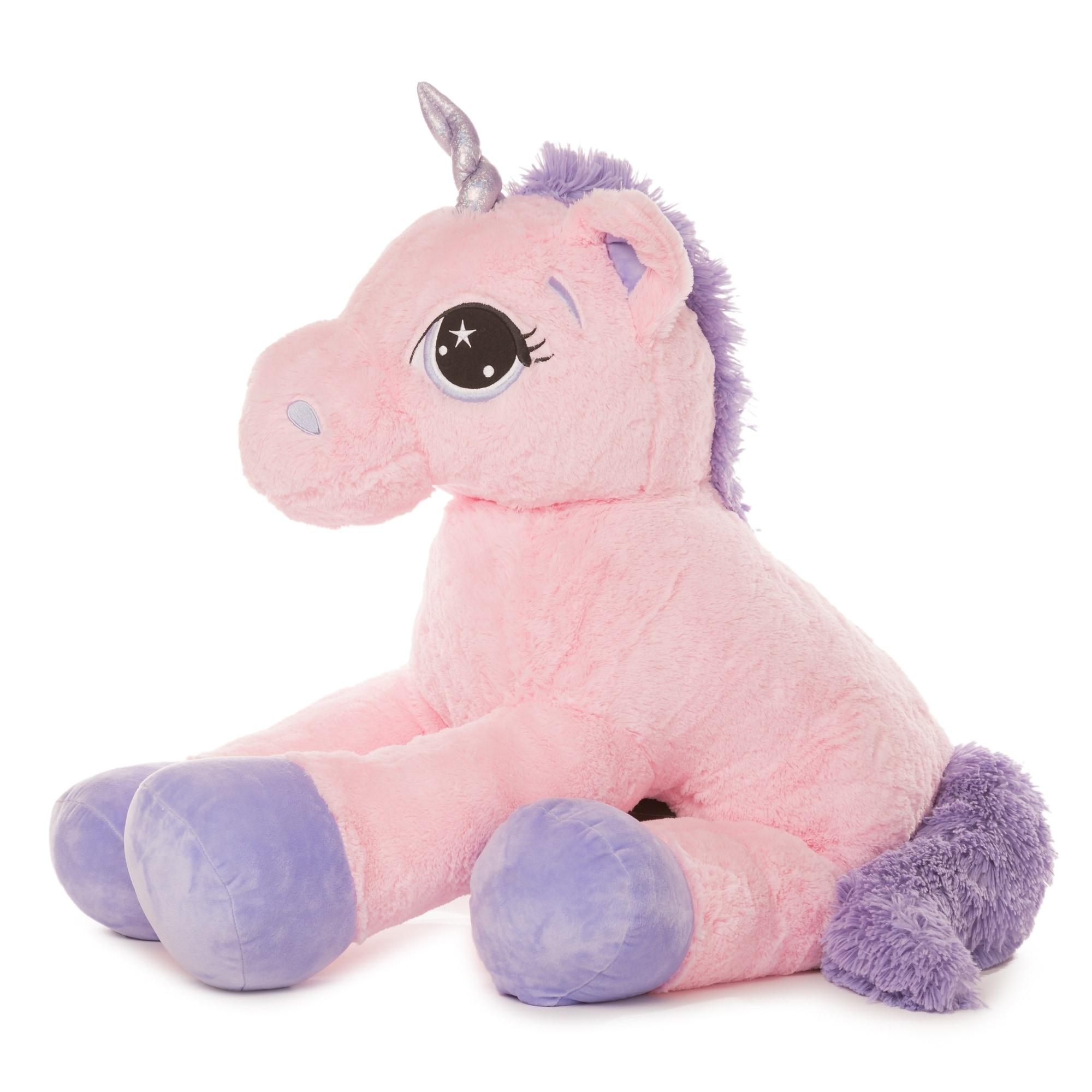 Shop Best Made Toys Jumbo Unicorn Giant Plush Animal Over 4 Feet