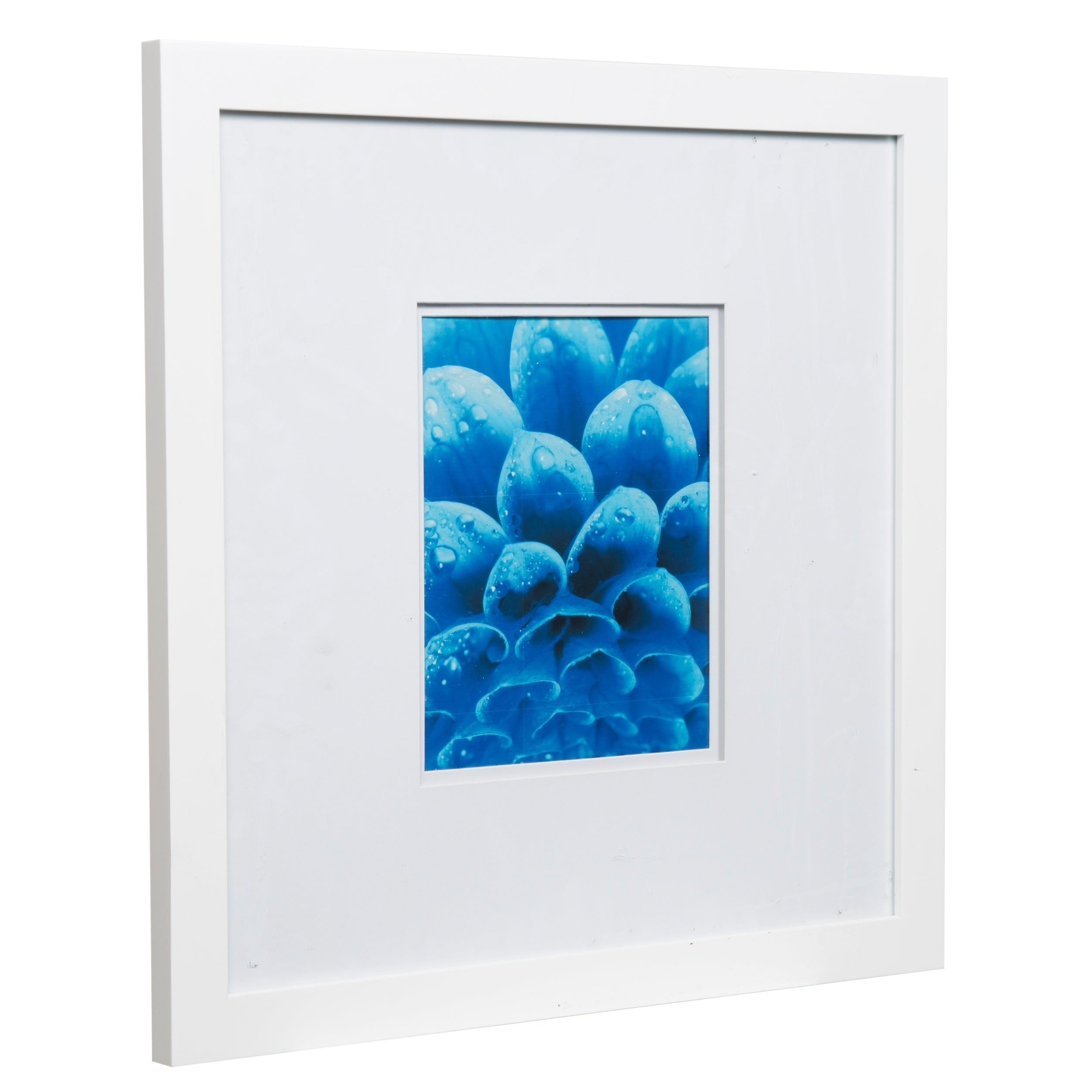 Gallery 18X18 Wide White Double Mat to 8x10 Picture Frame - Free ...