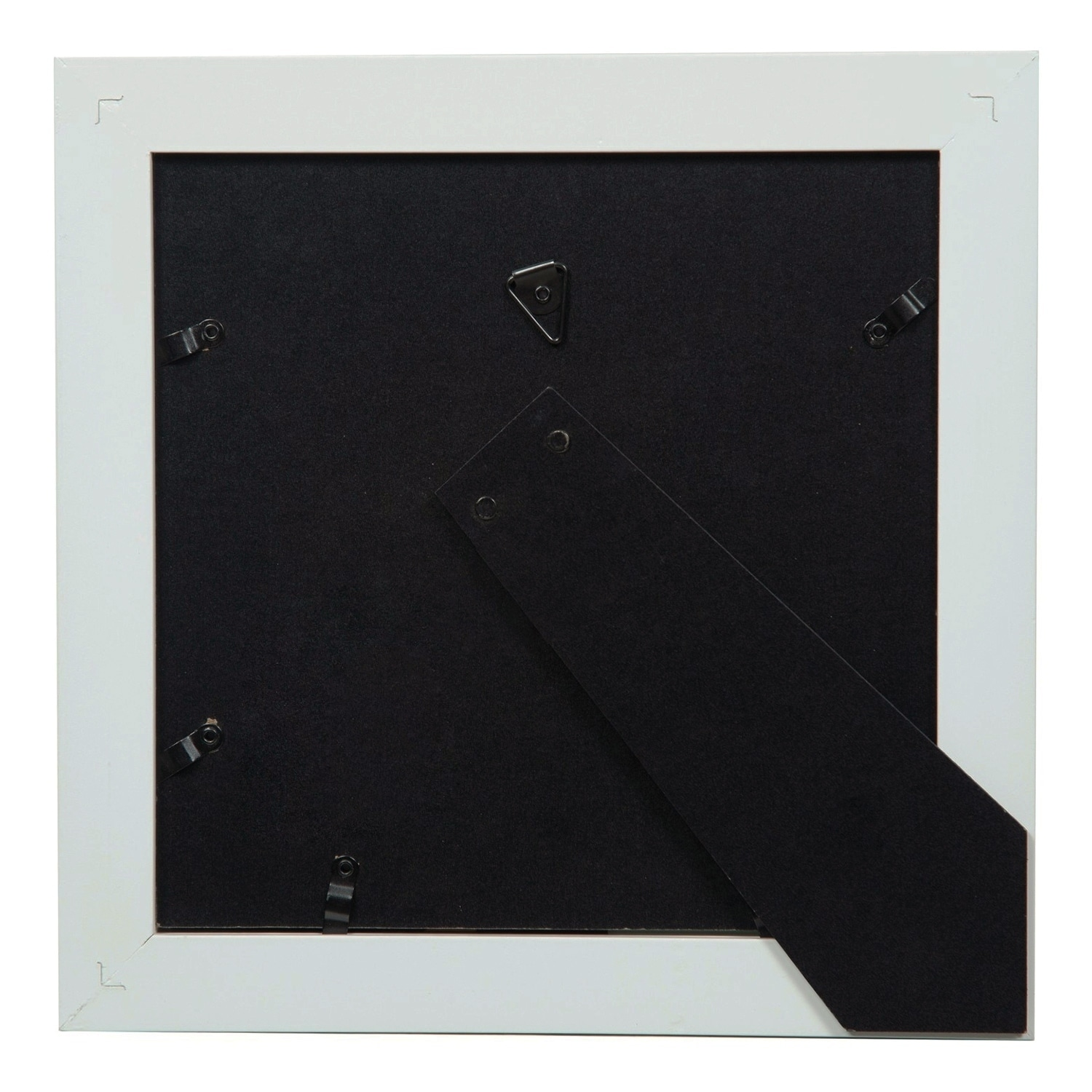 Shop Gallery 8X8 Wide White Double Mat to 5x5 Picture Frame - Free ...