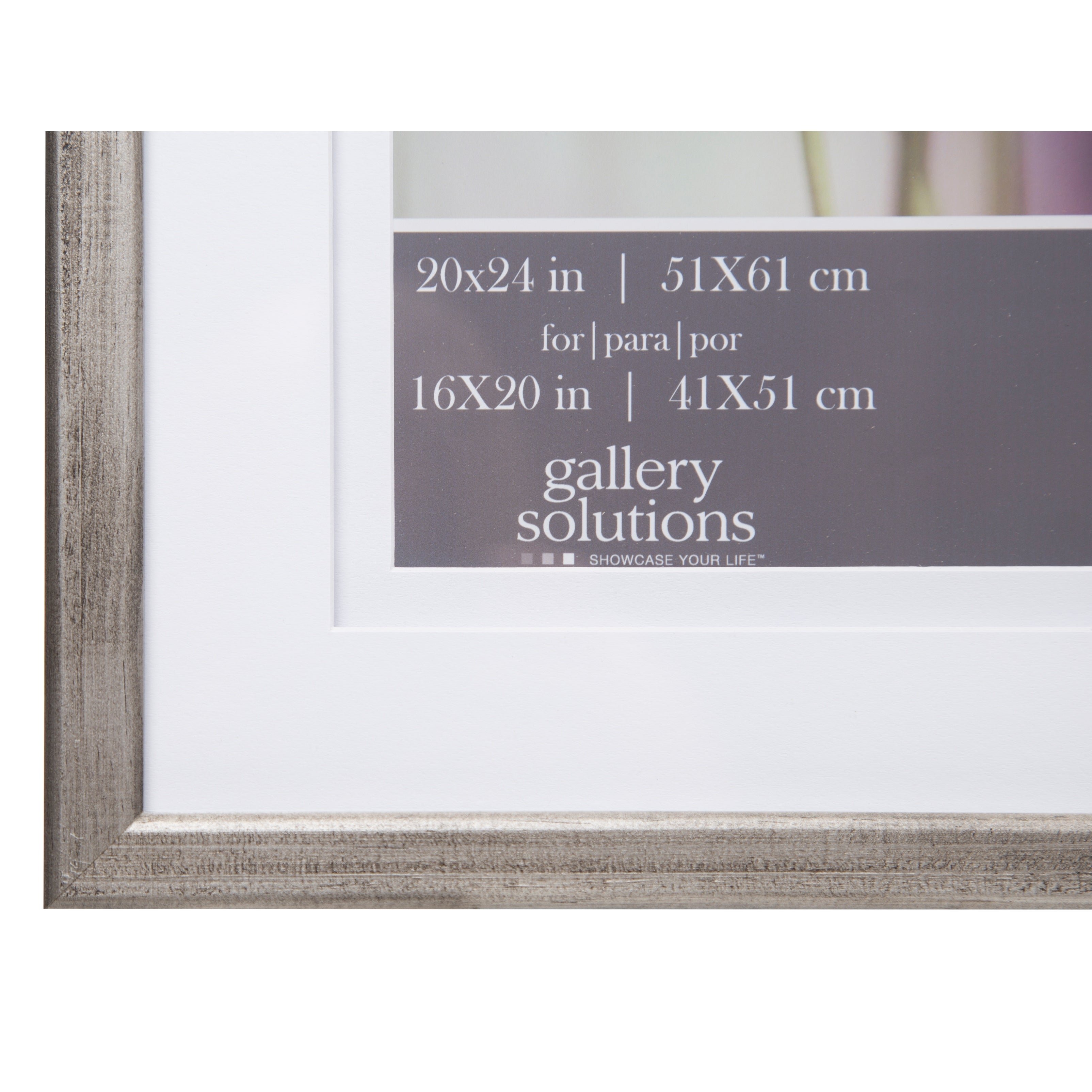 Shop Gallery 20x24 Double Mat to 16x20 Picture Frame - Free Shipping ...