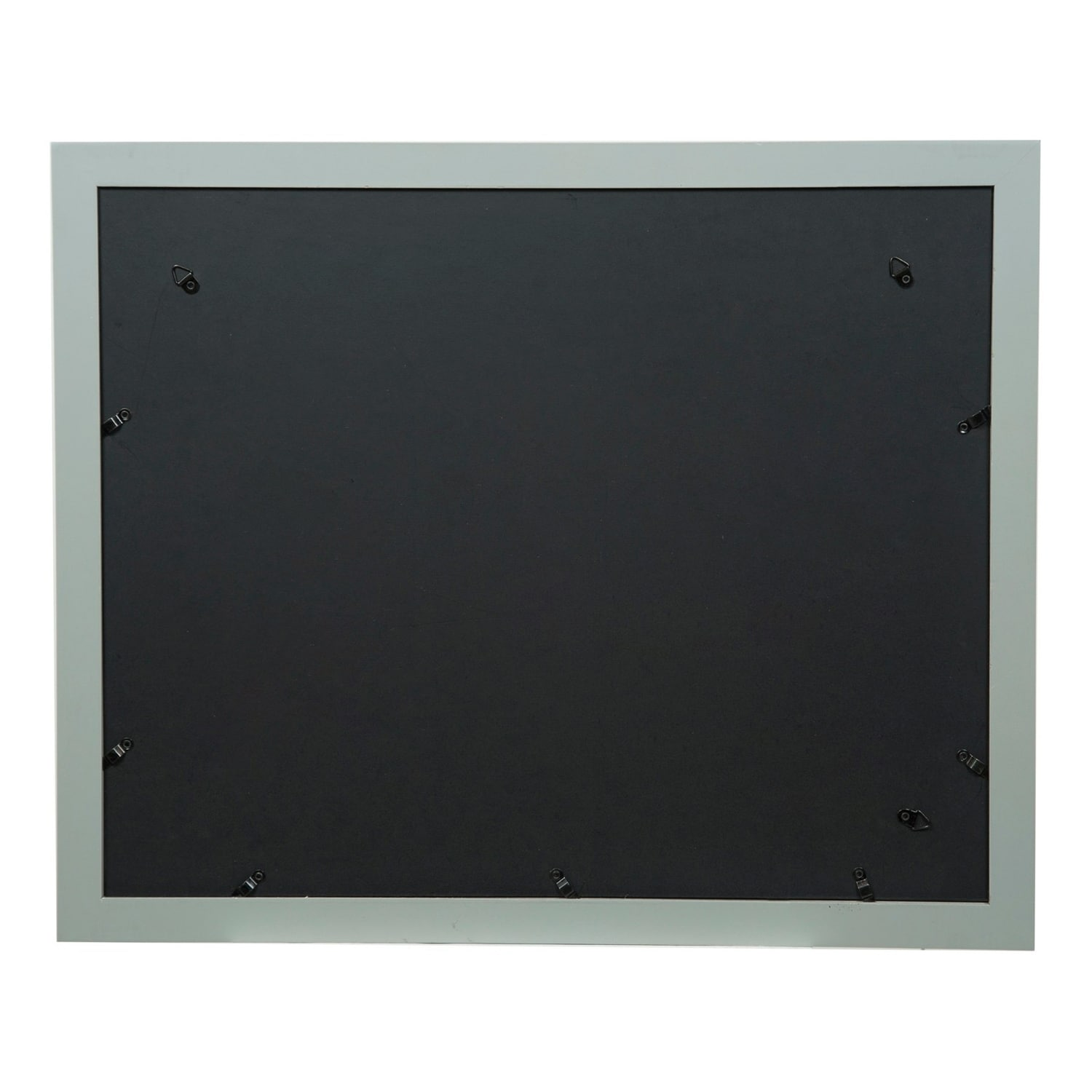 Gallery 16x20 Wide Grey Double Mat to 11x14 Picture Frame - Free ...