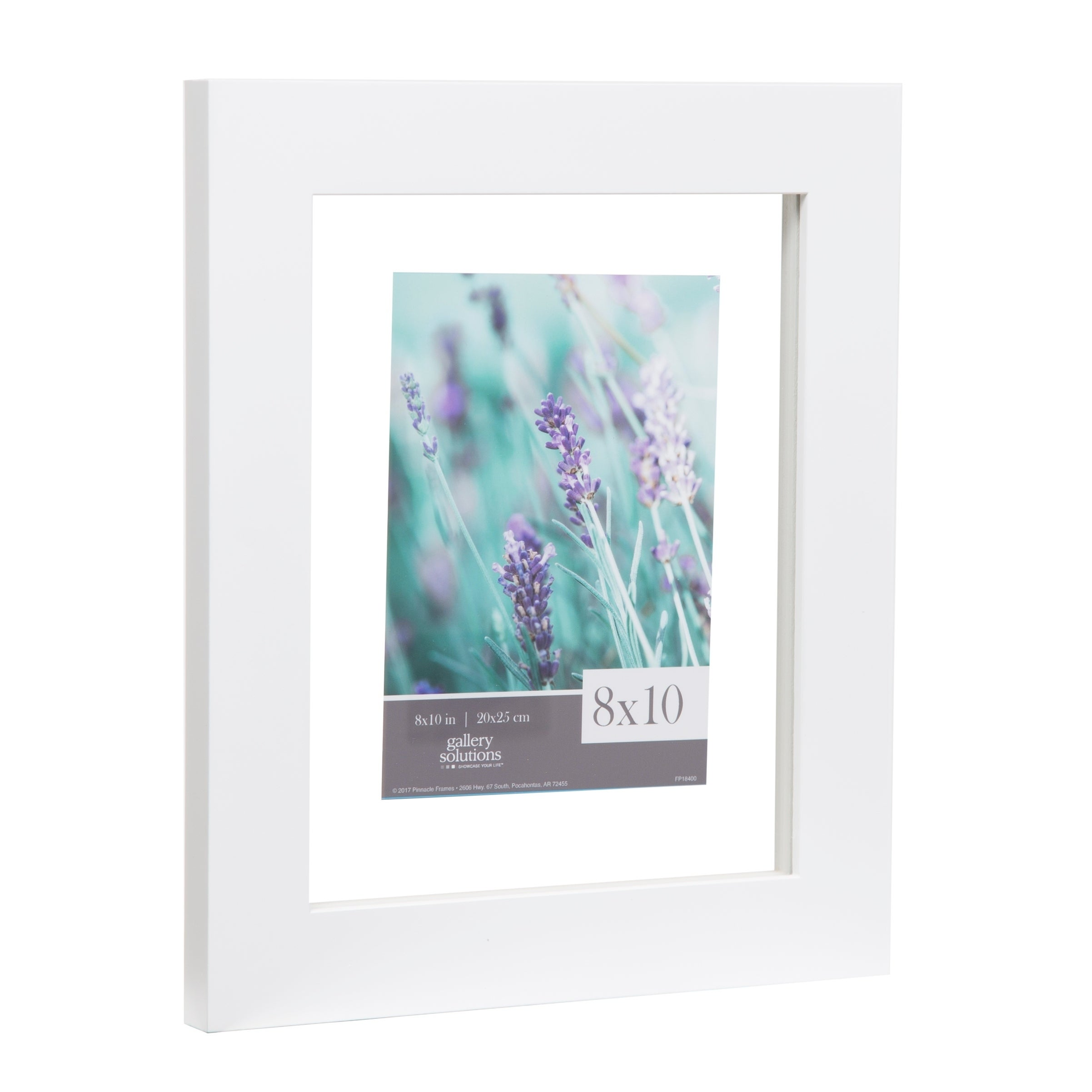 8x10 Float 5x7 Wide White Picture Frame - Free Shipping On Orders ...