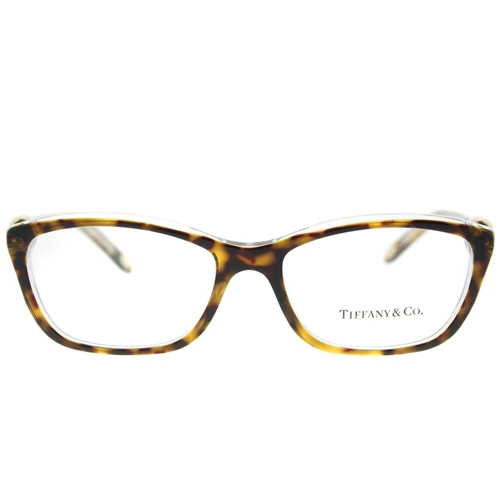 Tiffany & Co. Cat Eye TF 2074 8155 Womens Top Black on Blue Frame ...
