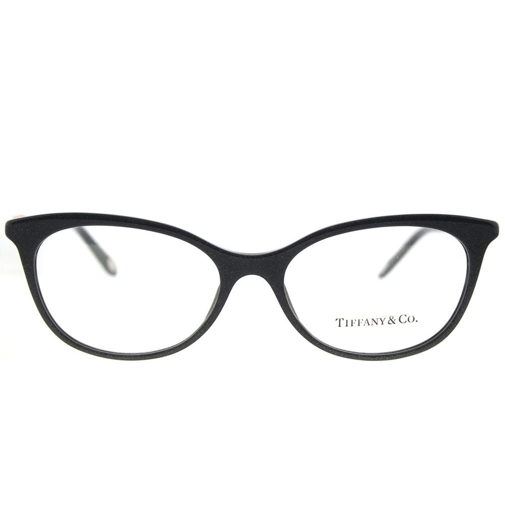 Shop Tiffany & Co. Cat Eye TF 2142B 8211 Womens Pearl Gunmetal Frame ...