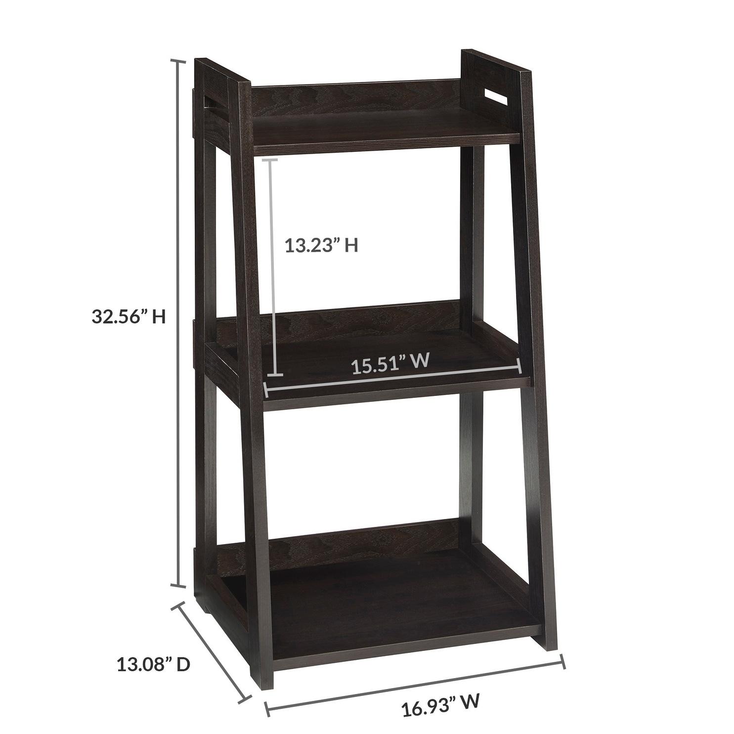 New ClosetMaid No-Tool Assembly Narrow 3-Tier Ladder Shelf - Free  PS96
