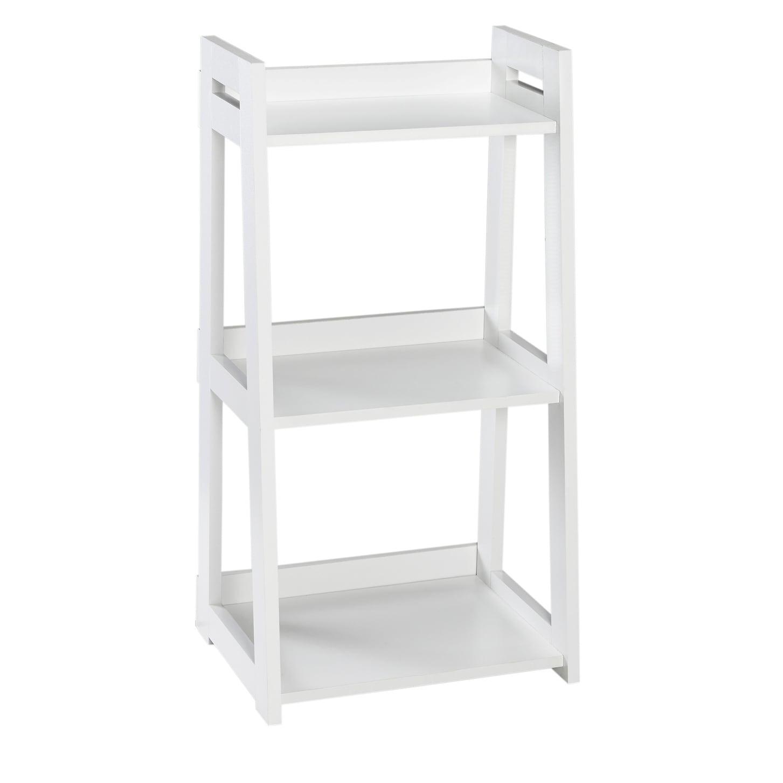 Shop ClosetMaid No Tool Assembly Narrow 3 Tier Ladder Shelf