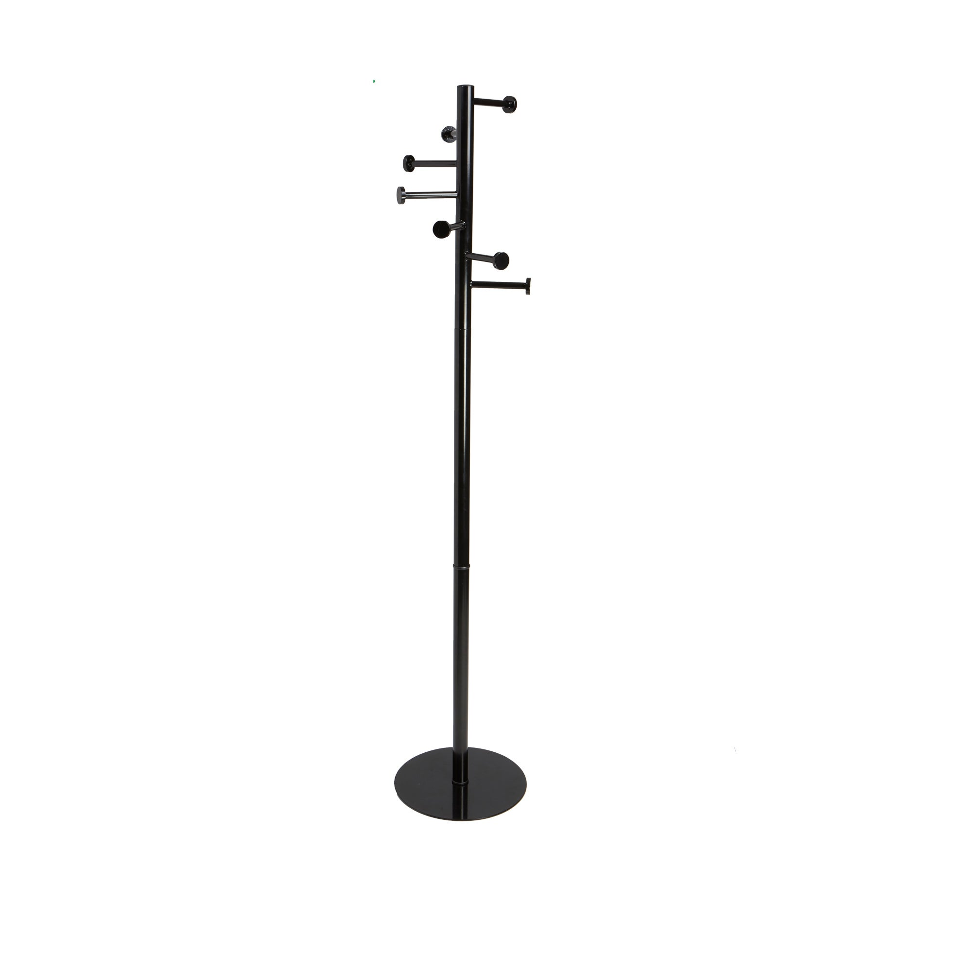 Mind Reader Free Standing 7 Hook Metal Coat and Hat Rack, Black - Free  Shipping Today - Overstock.com - 24280463