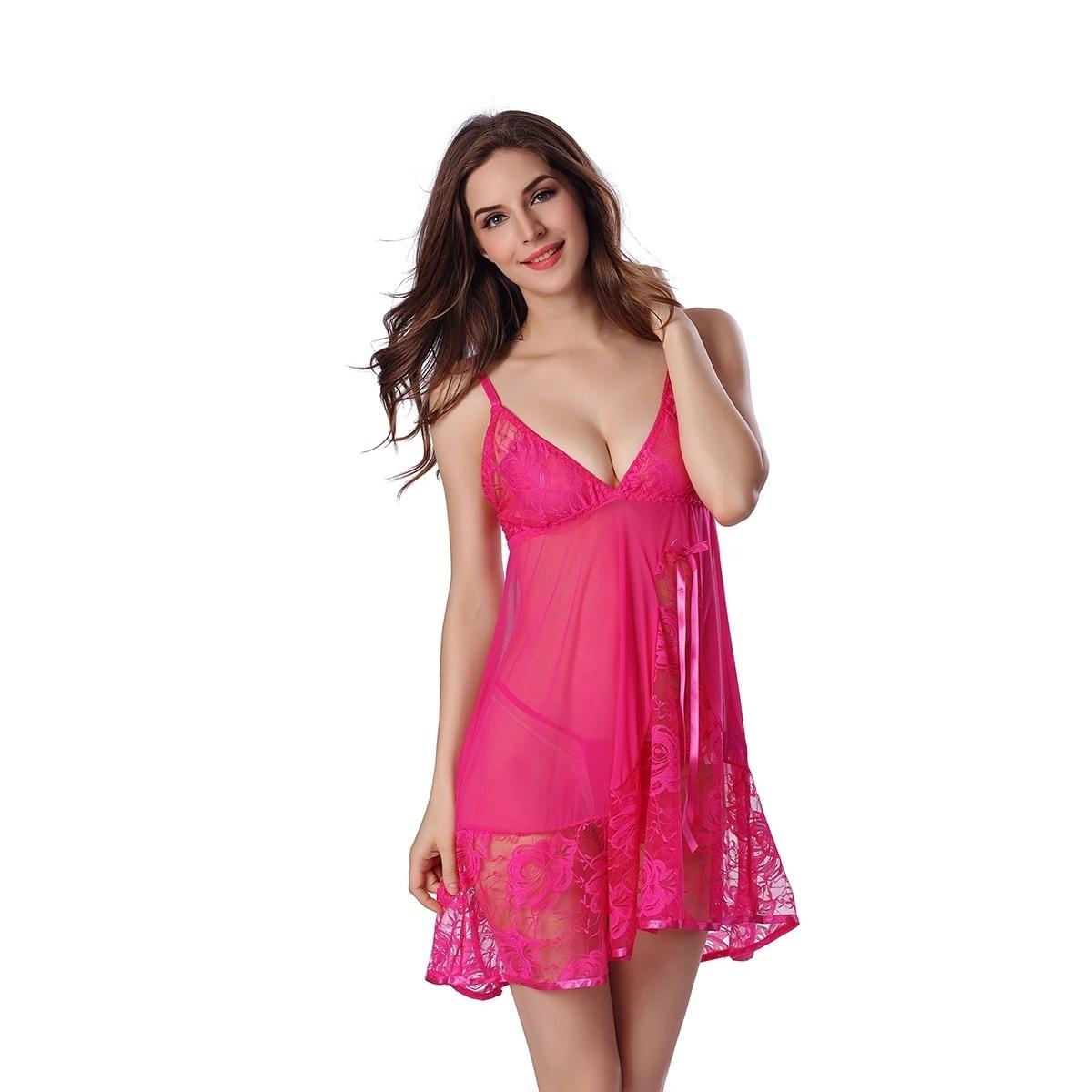 9ea8856b8ccc Obsessive Kalia Sexy Babydoll Dress Womens Lingerie Sleepwear
