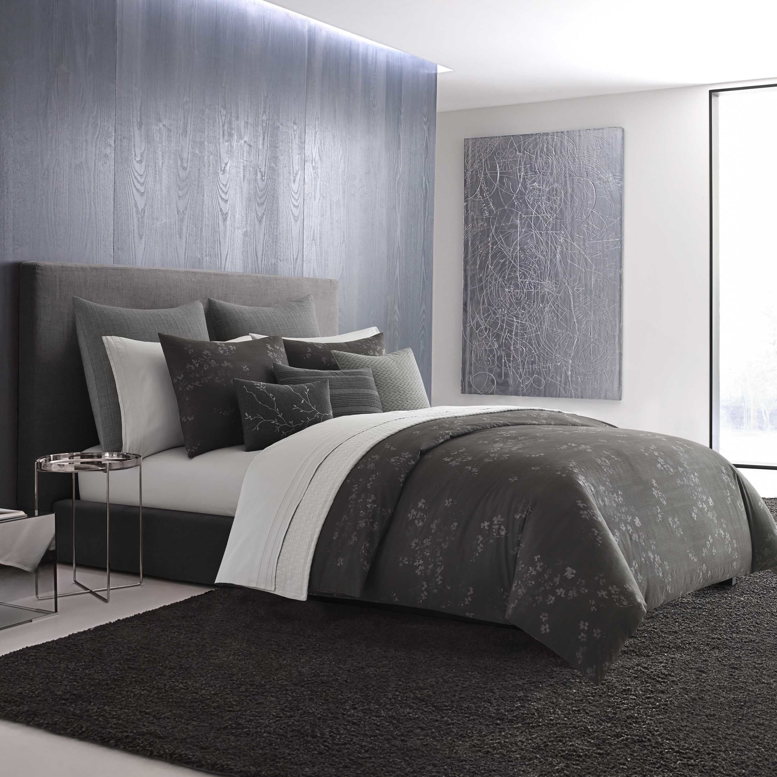 set modern grey bedding p comforter dark omega gray